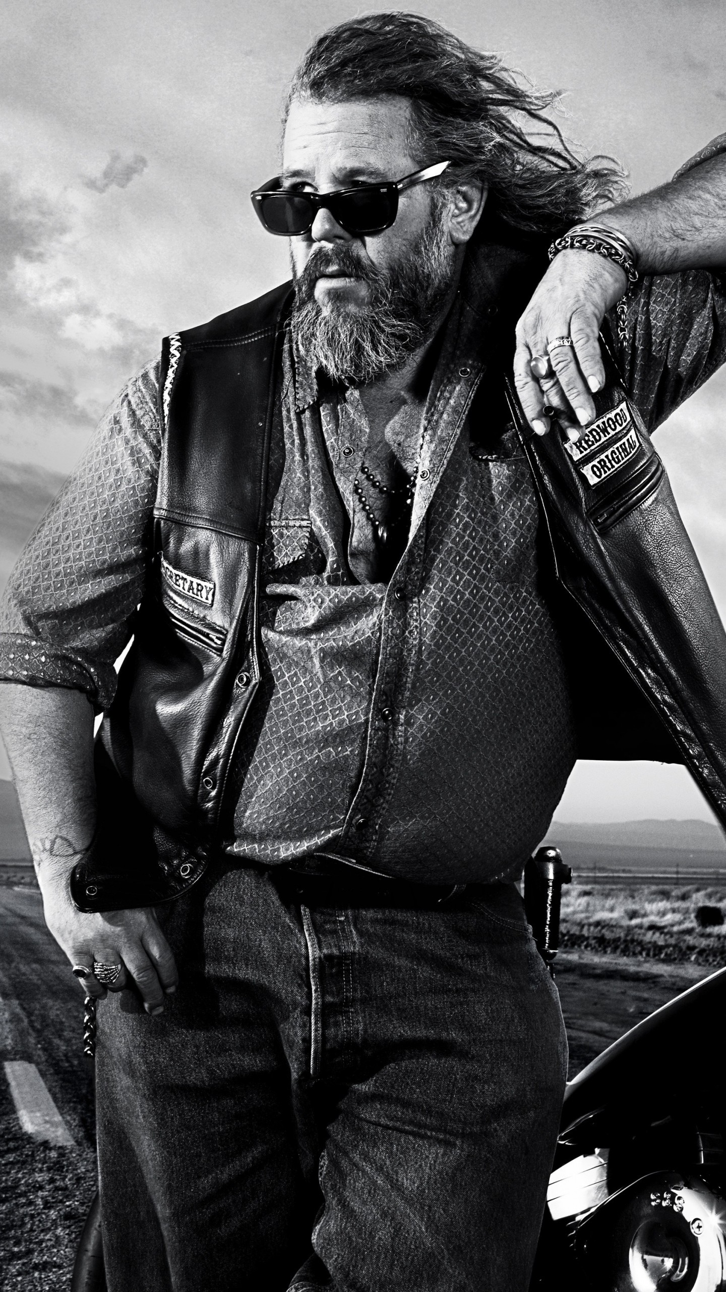 Preview wallpaper sons of anarchy, 2008, biker 1440×2560