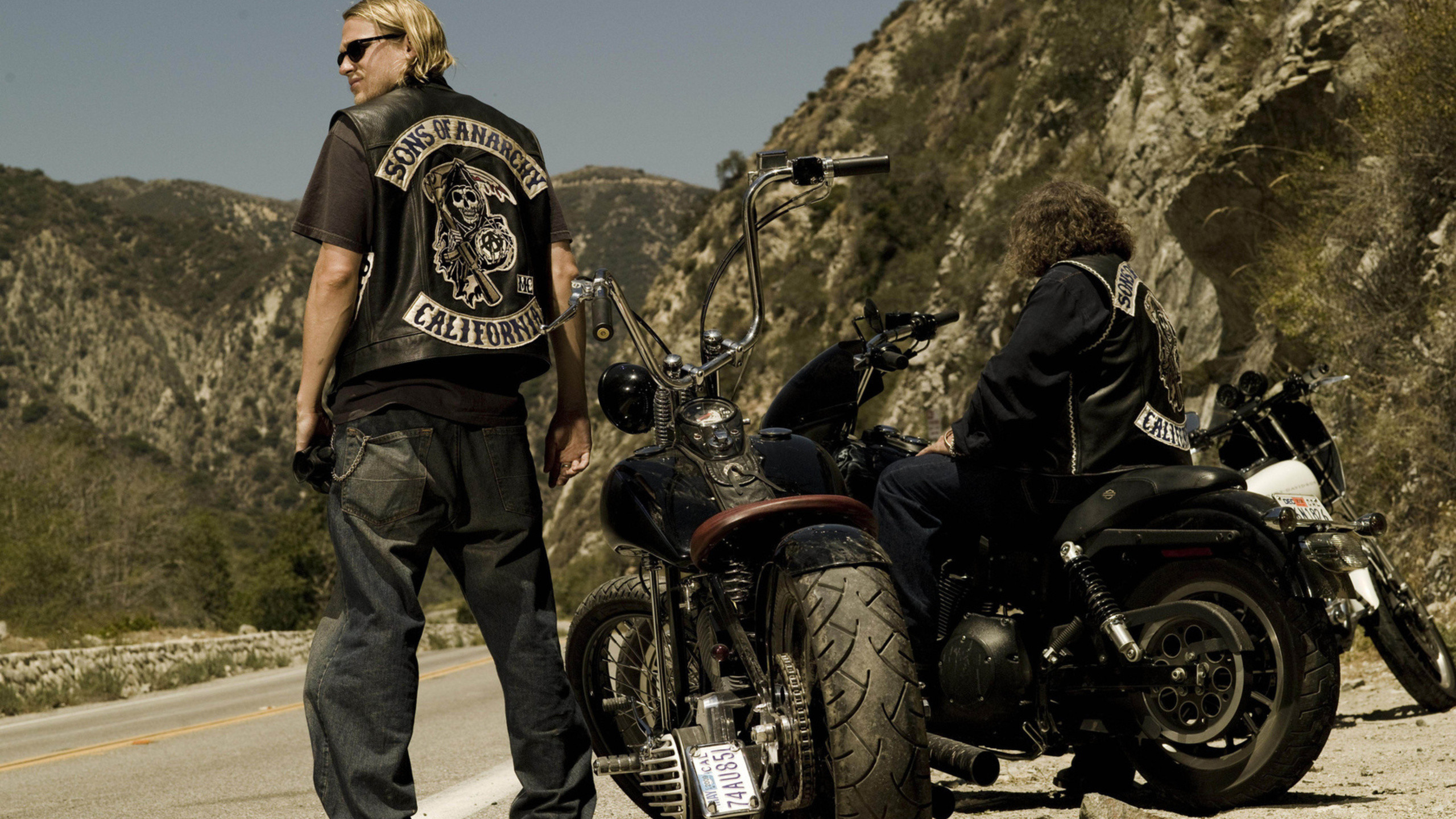 Preview wallpaper sons of anarchy, jackson teller, jax, charlie hunnam  2560×1440