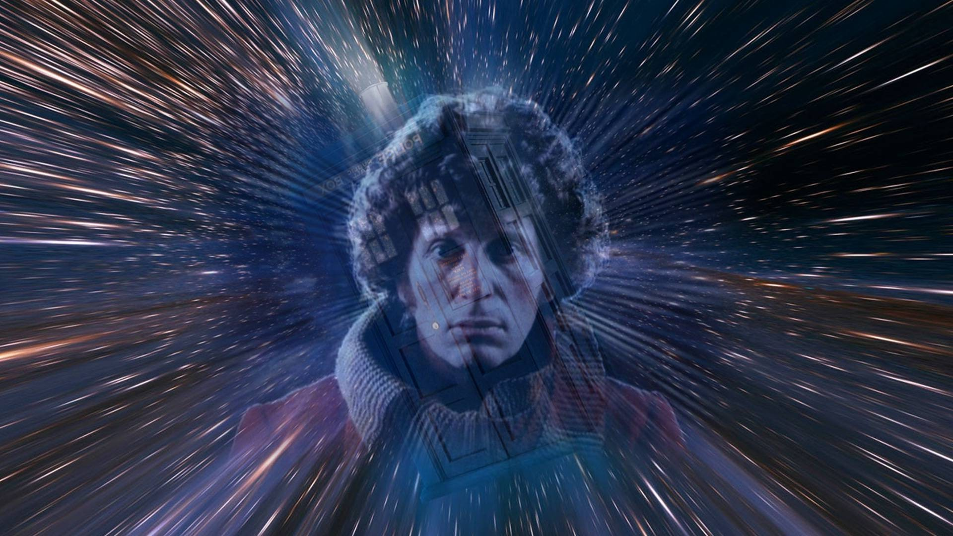 Doctor Who, The Doctor, TARDIS, Tom Baker, Space Wallpapers HD / Desktop  and Mobile Backgrounds
