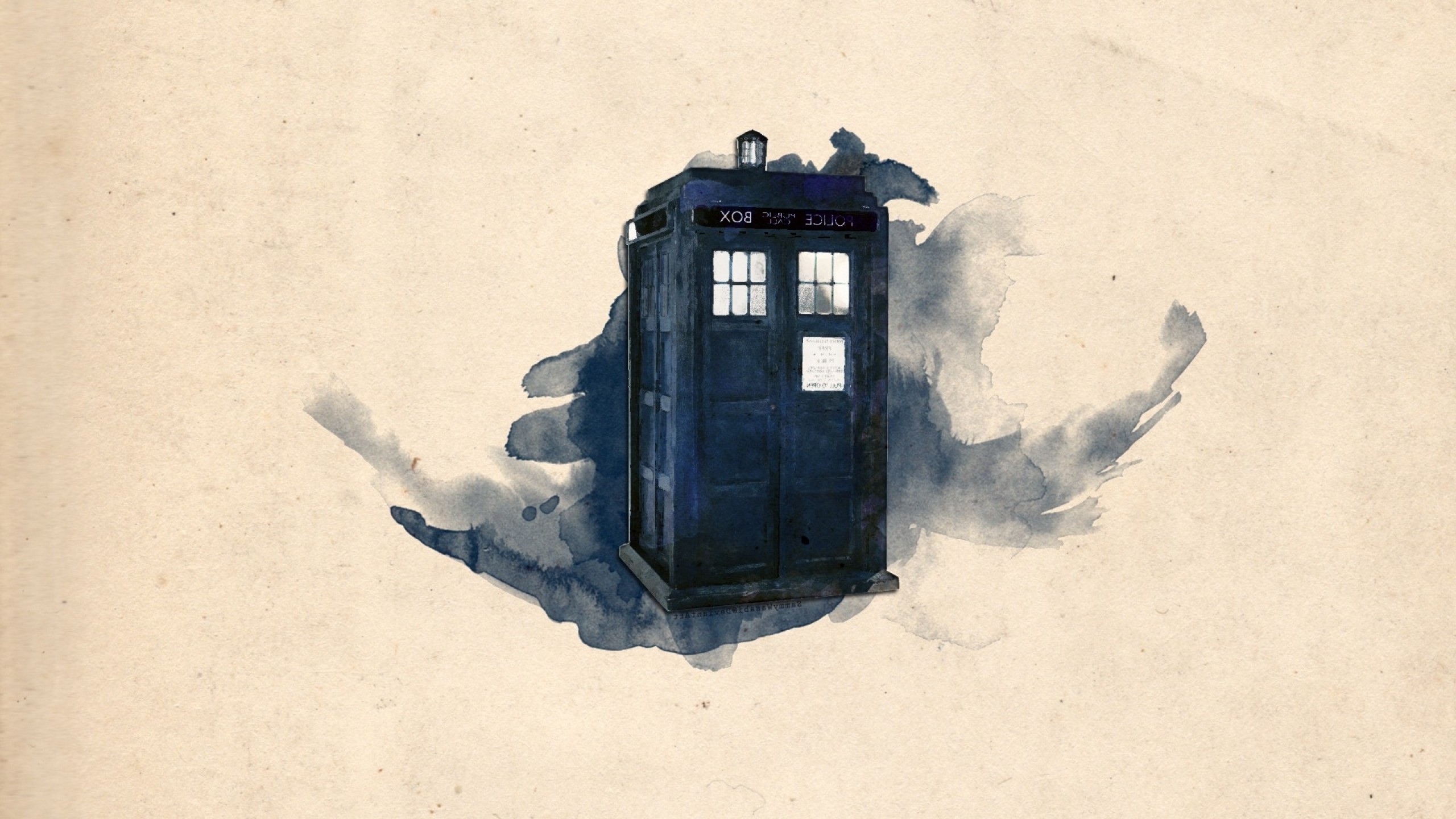 Doctor Who, TARDIS, Artwork Wallpapers HD / Desktop and Mobile Backgrounds