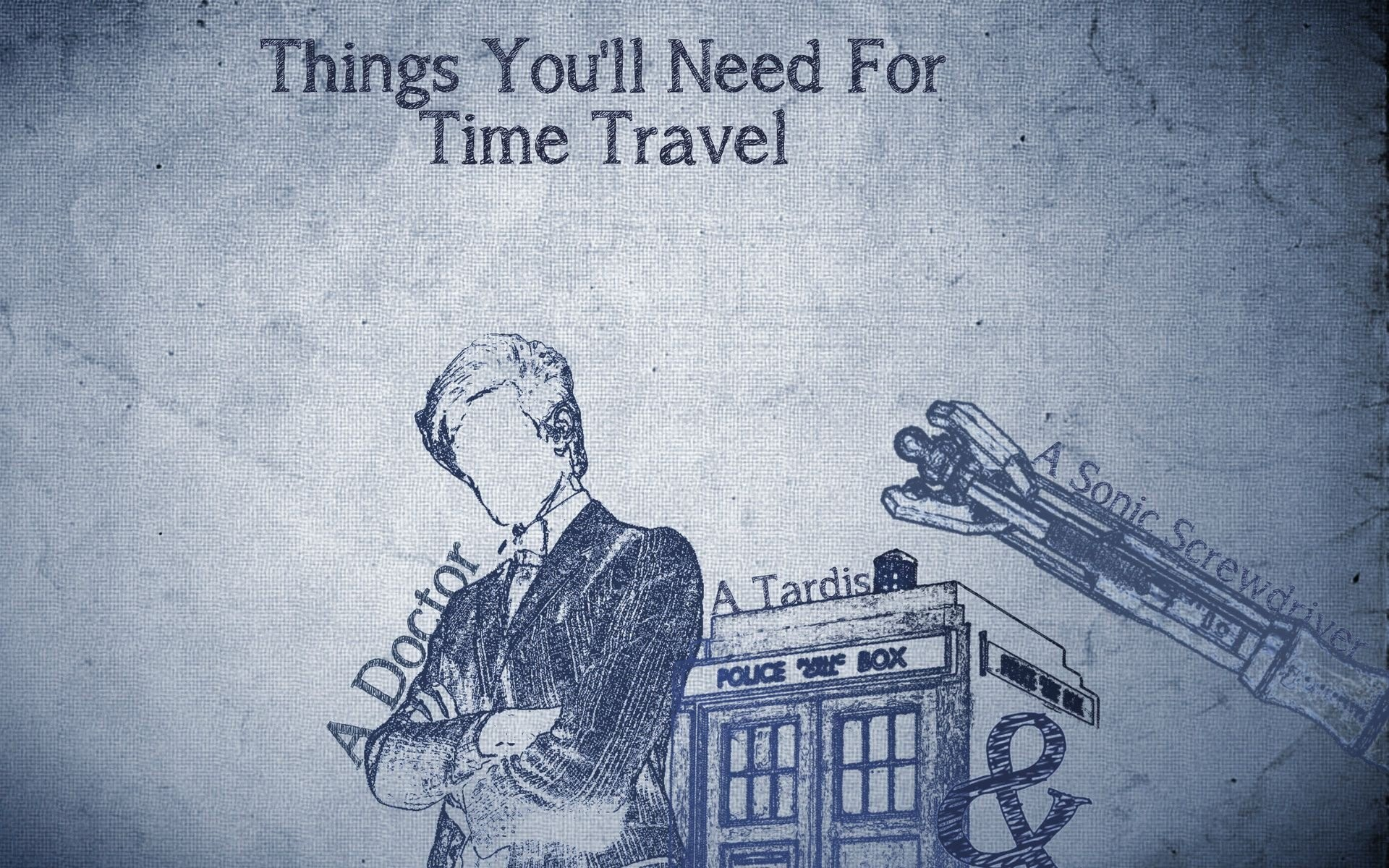 Doctor Who The TARDIS Matt Smith Time Travel …