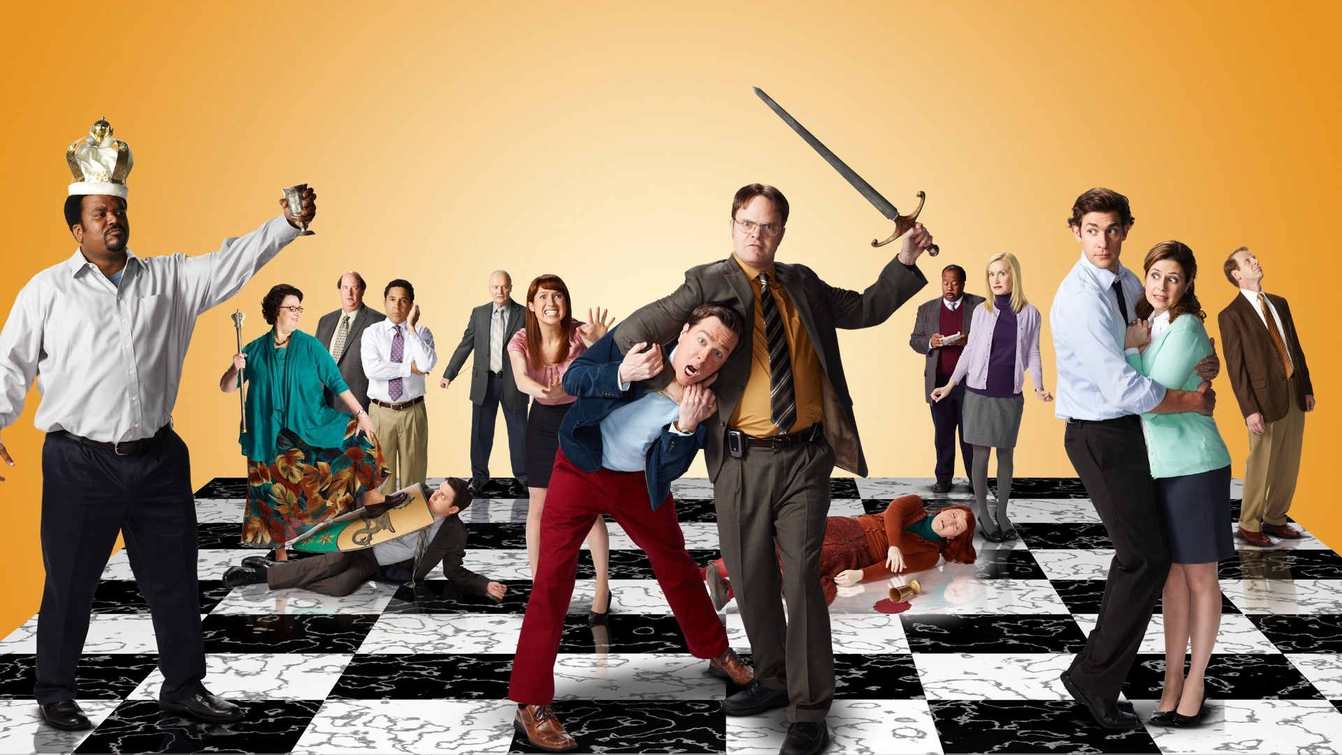 widescreen backgrounds the office us