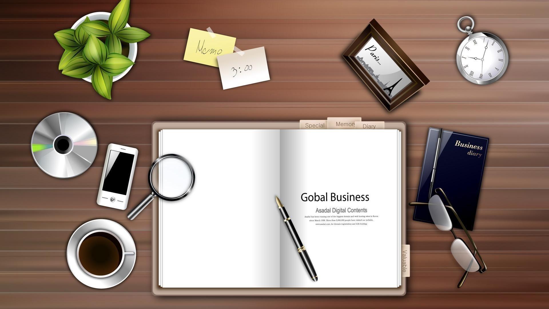 Office Desktop Background – HD Wallpapers Lovely