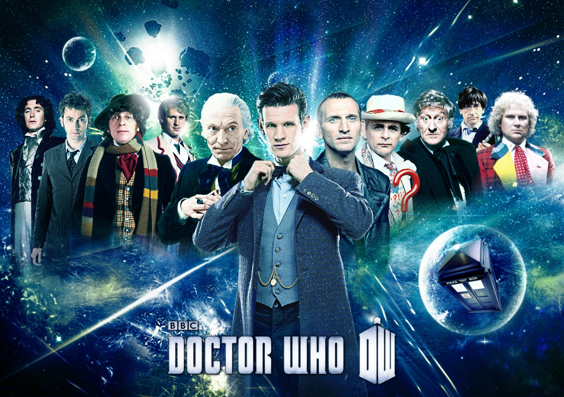 Doctor Who Wallpaper All The Doctors 5