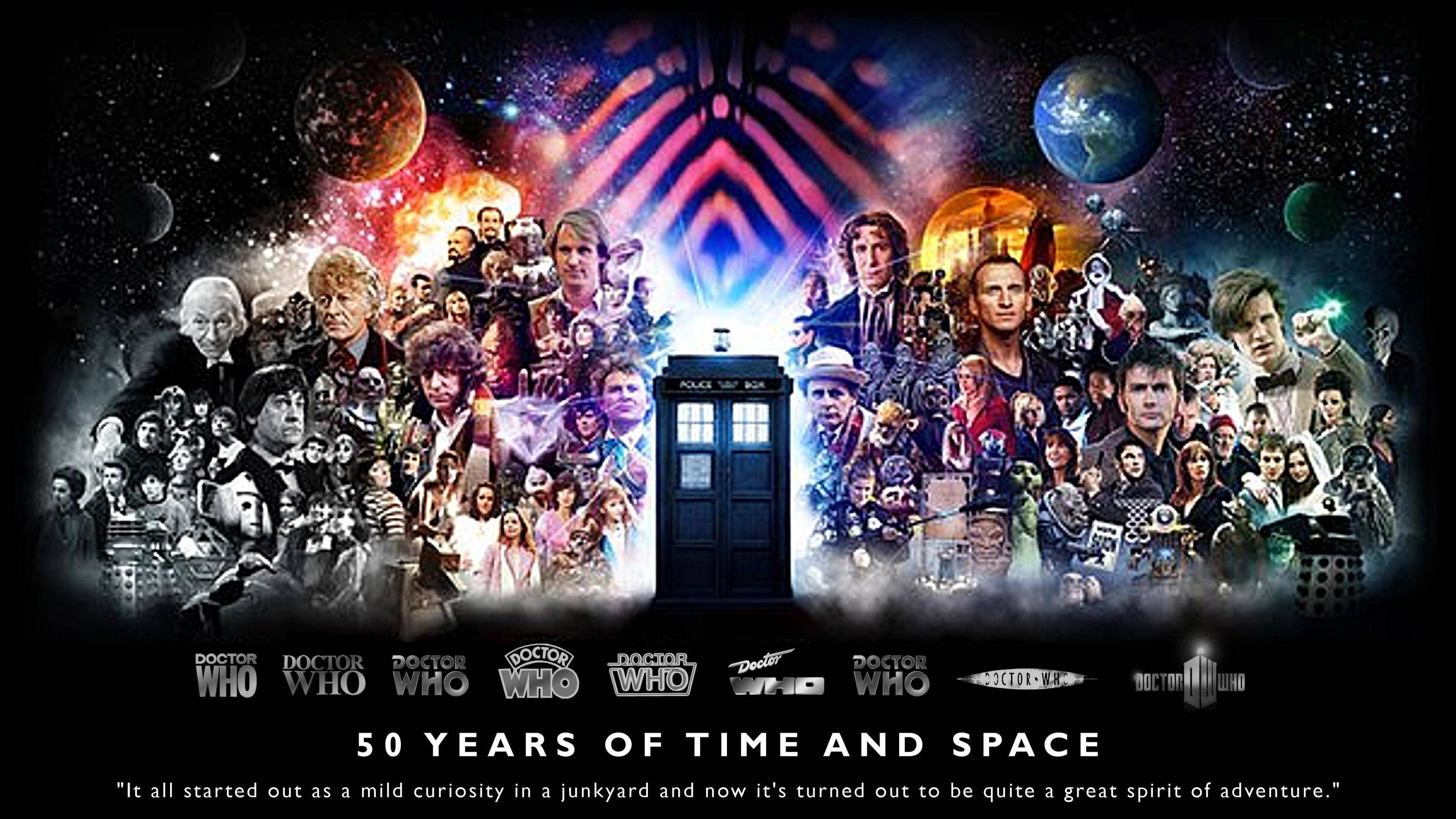 Doctor Who 50th Anniversary!