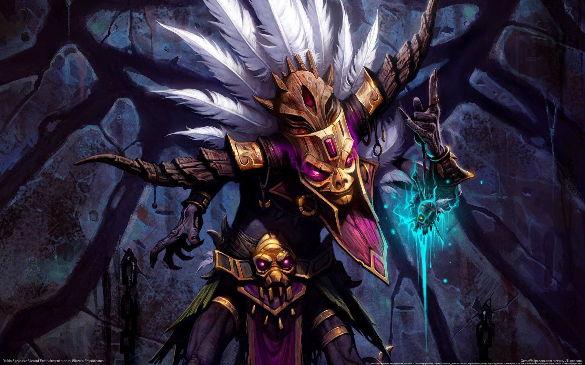 """Search Results for """"diablo 3 witch doctor iphone wallpaper"""" – Adorable  Wallpapers"""