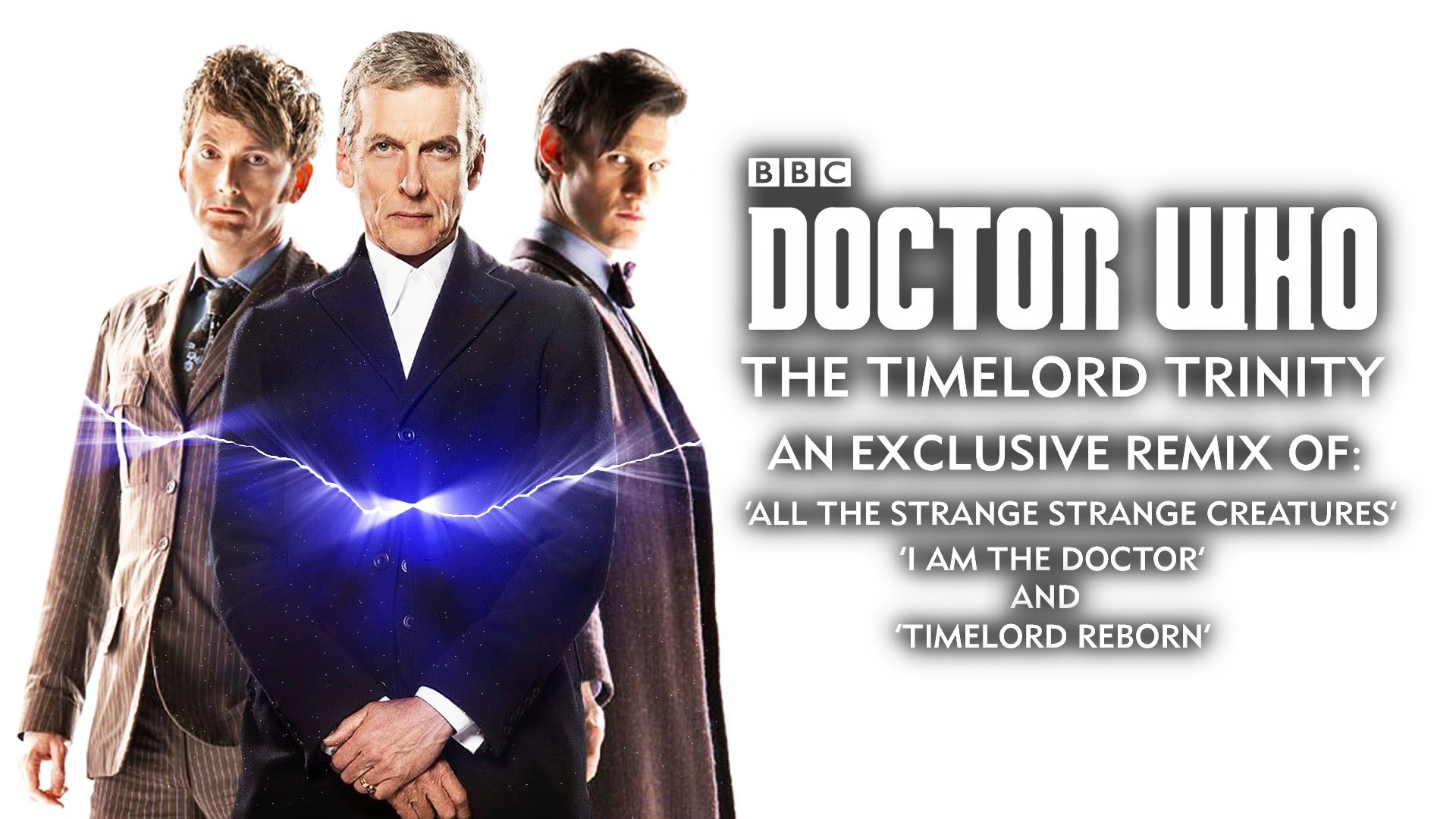 Doctor Who The Timelord Trinity – 10th, 11th and 12th Doctors' Themes –  Whovian Mashup Mix!