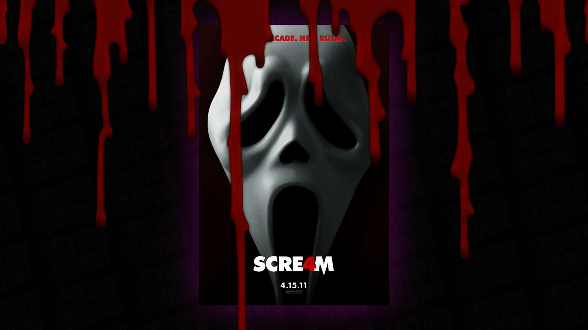 Scream 4 Ghostface – HD Wallpaper