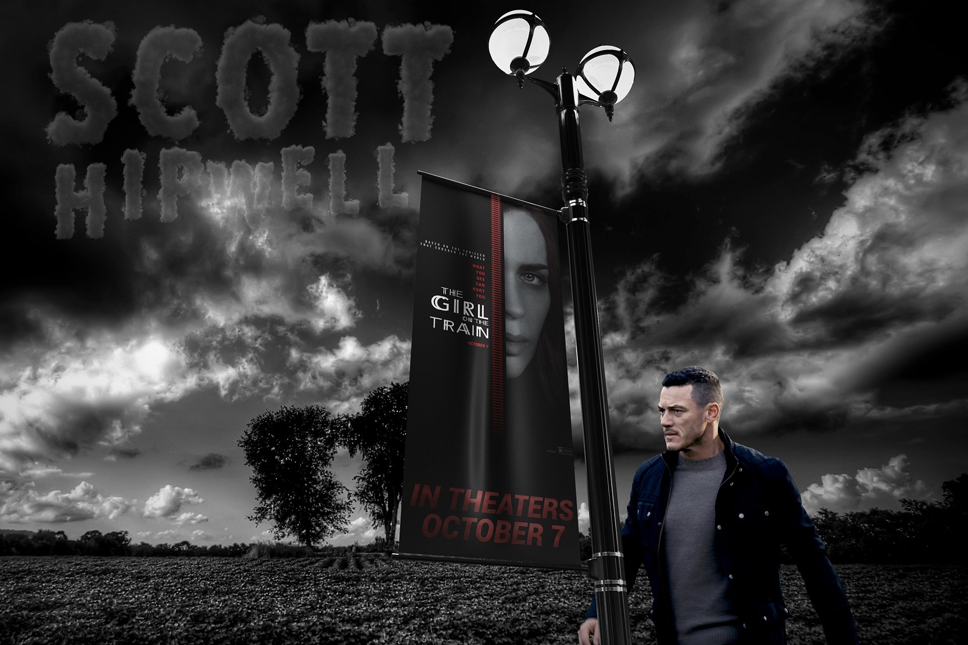 I've made a new wallpaper of Luke as Scott Hipwell in The Girl on the Train.