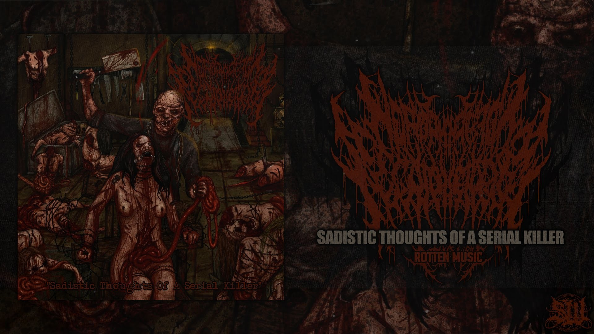 HOMOPHOBIC FECALPHELIAC – SADISTIC THOUGHTS OF A SERIAL KILLER [OFFICIAL  STREAM] (2016) SW EXCLUSIVE