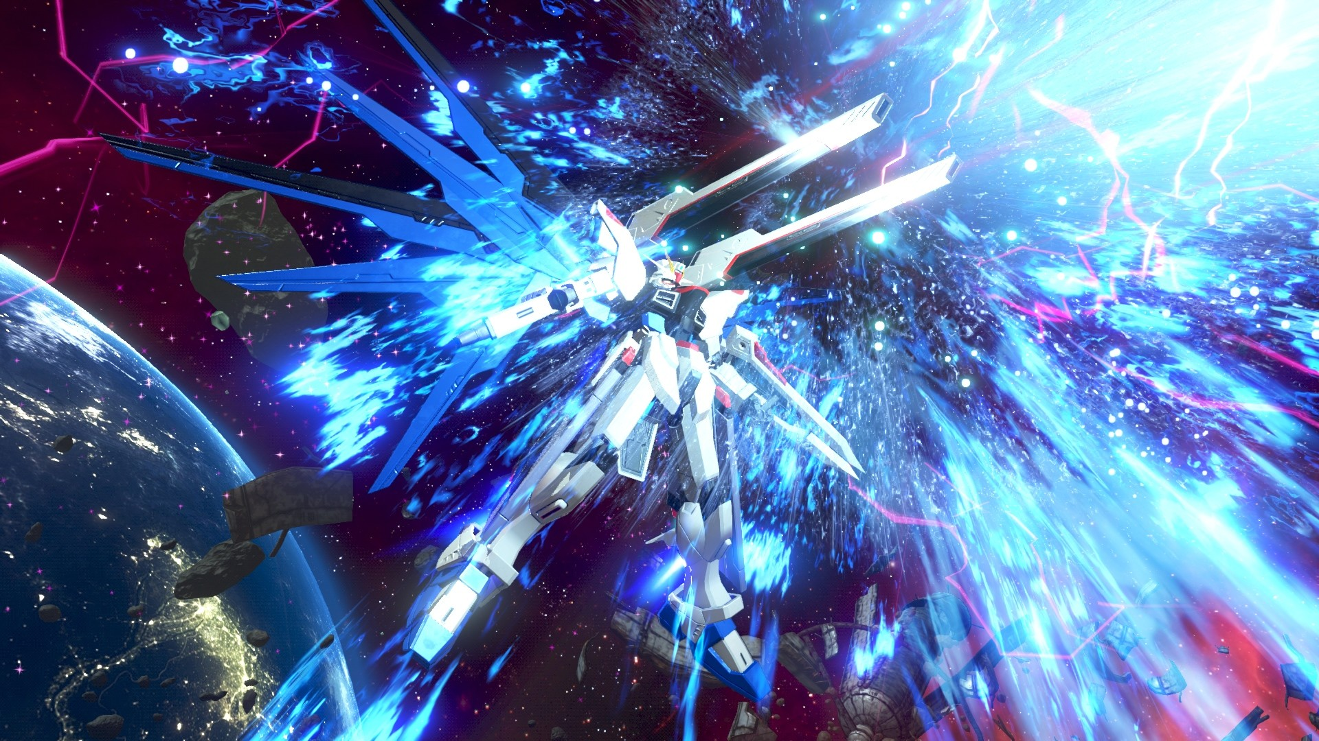 Awesome Gundam Versus PlayStation 4 (PS4) Game wallpaper