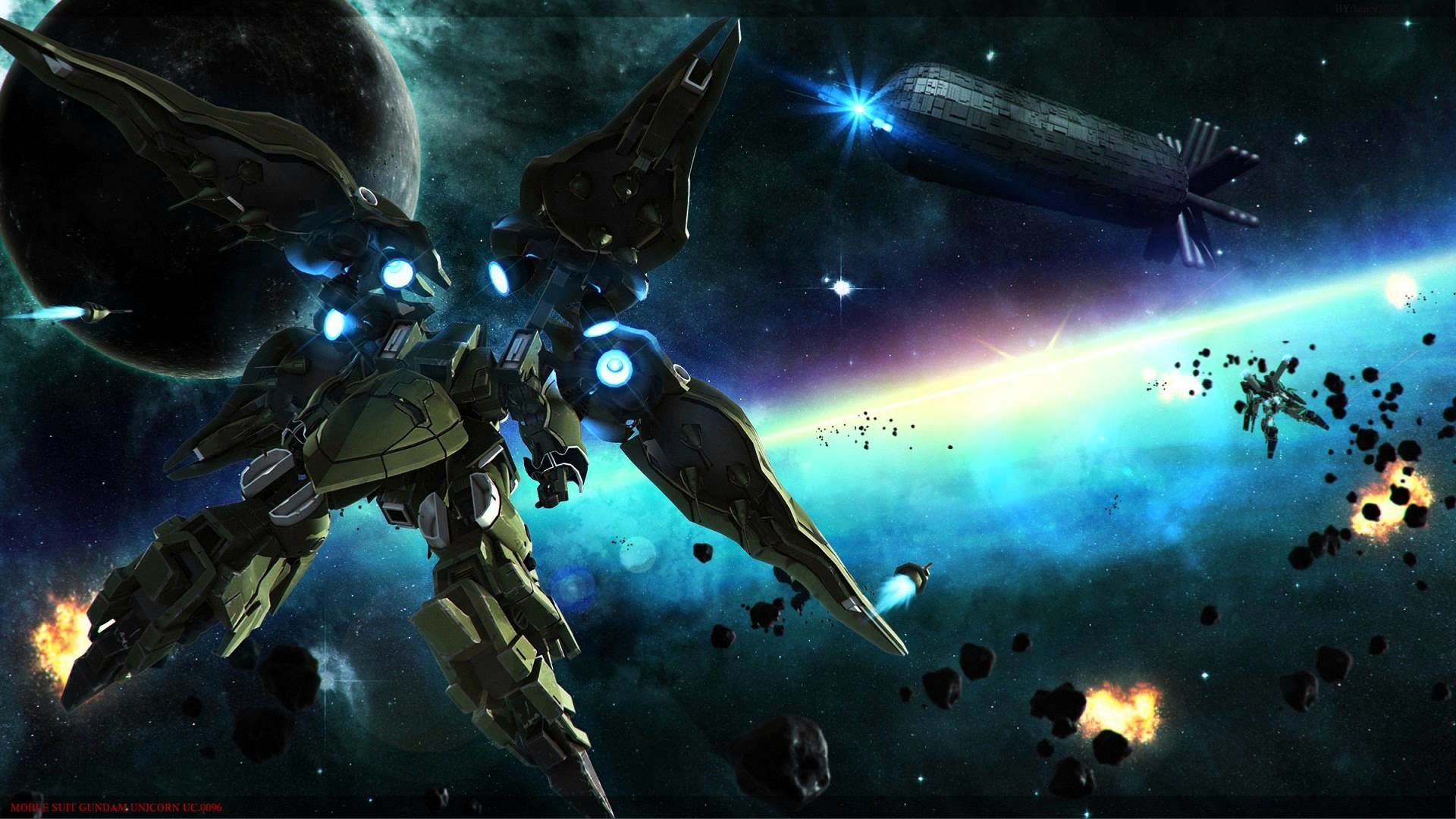Mobile Suit W-REC Mix – Gundam Unicorn OST 2 – 15 (High Quality