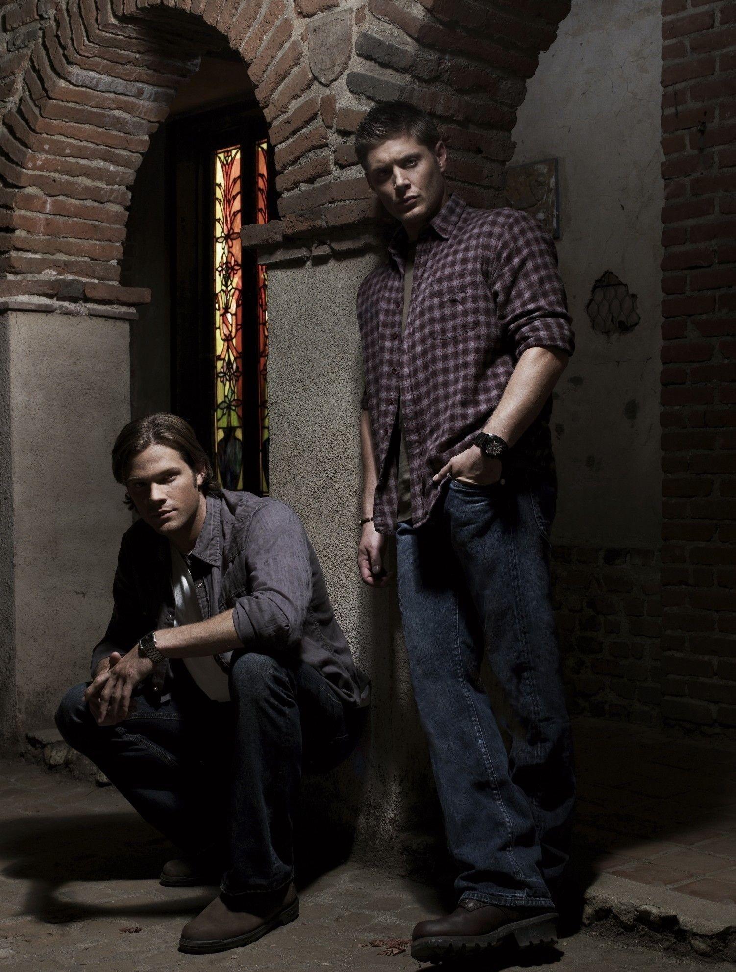 Supernatural – Jensen Ackles & Jared Padalecki – love this pic of them