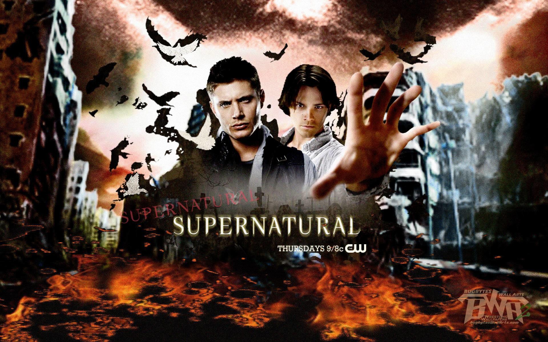 Supernatural Wallpaper Poster Tv Show – Horror TV Series
