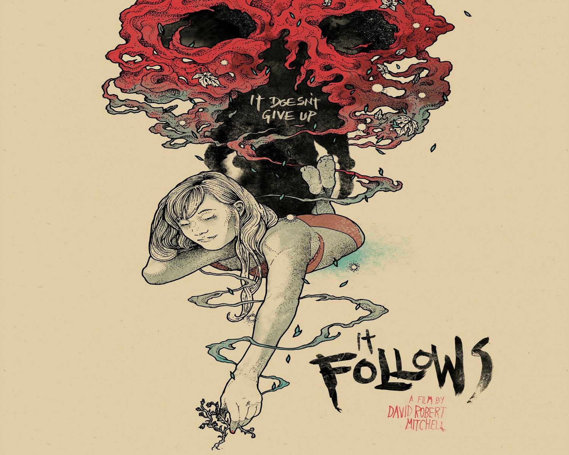 It Follows Horror Supernatural Dark 1foll Ghost Itfollows Poster Skull  Wallpaper At Dark Wallpapers