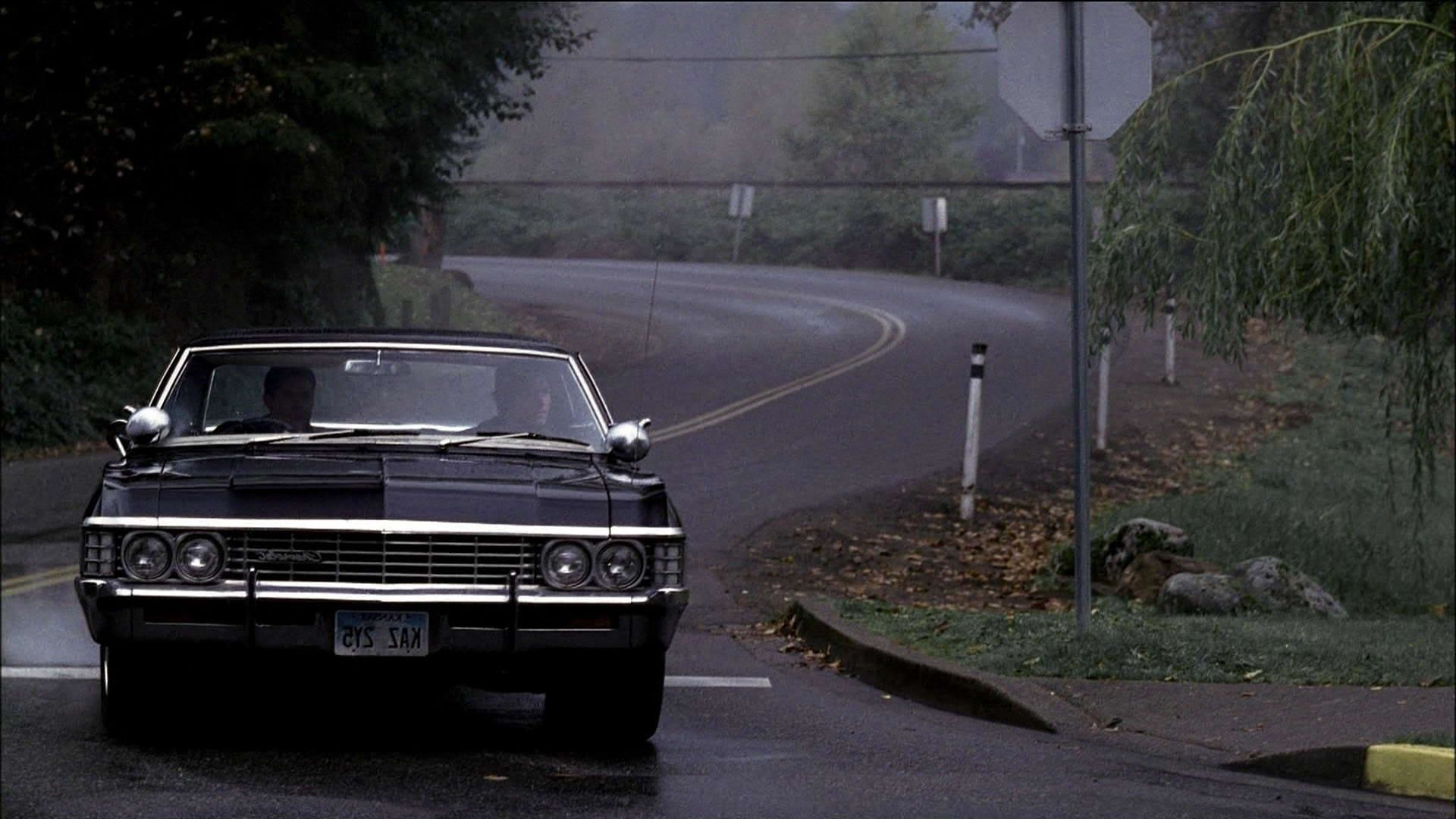 Supernatural Impala High Definition Wallpaper for Widescreen .