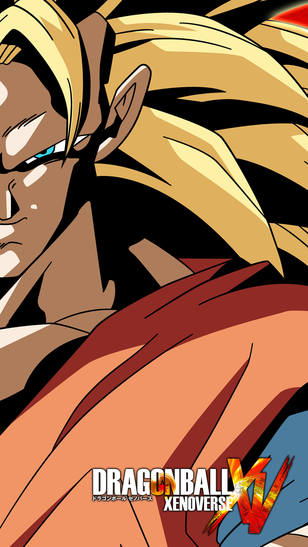 … SSJ3 Goku Xenoverse Phone Wallpaper by RayzorBlade189