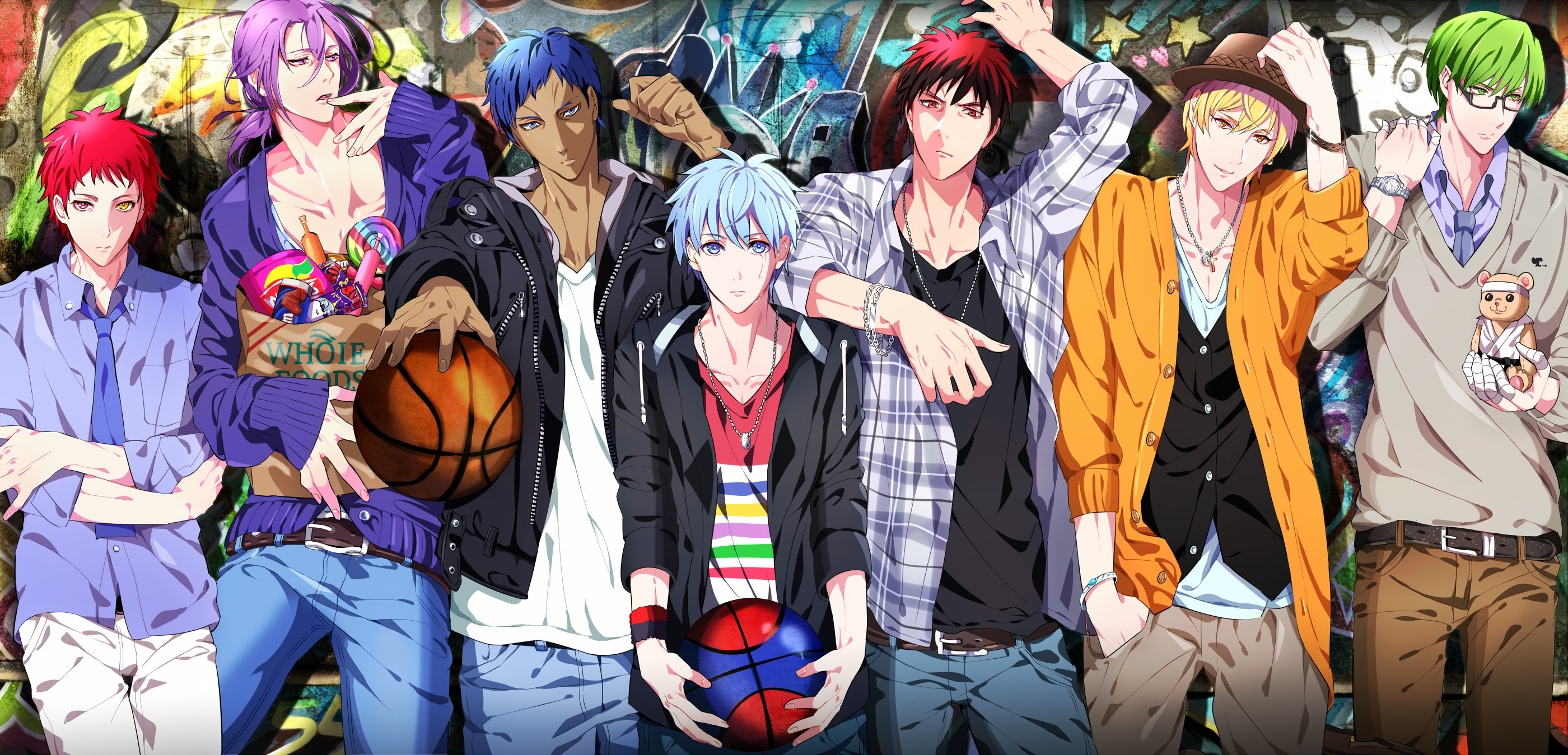 Atsushi Murasakibara Kuroko's Basketball · HD Wallpaper   Background  ID:278492