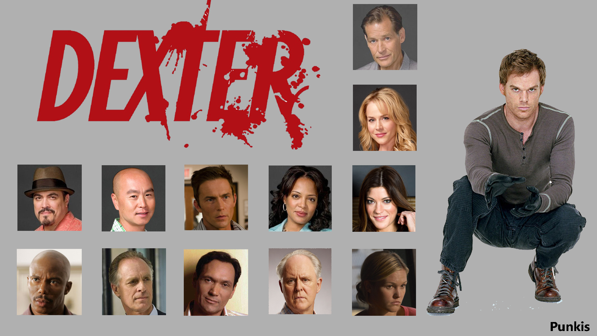 … Dexter All Starz HD 1080p Wallpaper by ThePunkis23
