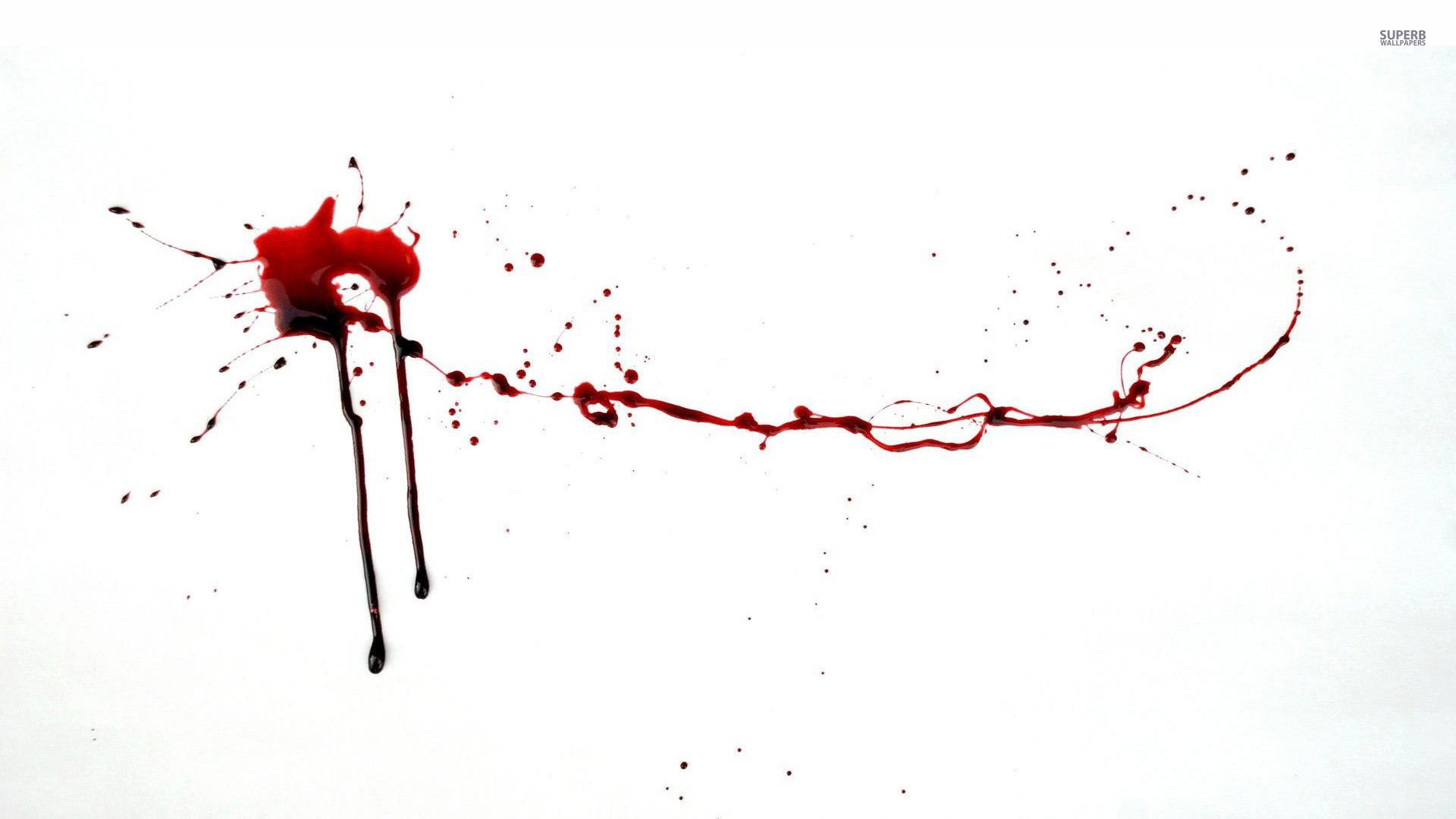 Blood Spatter Wallpaper 1920×1080