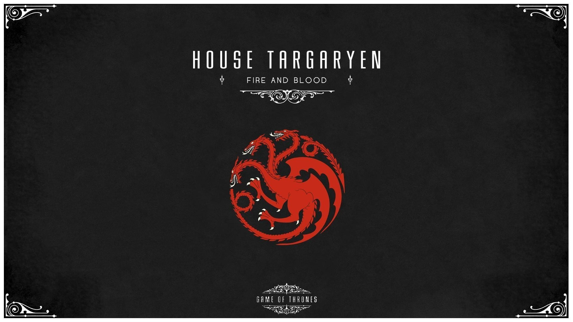 Game of thrones house targaryen wallpaper