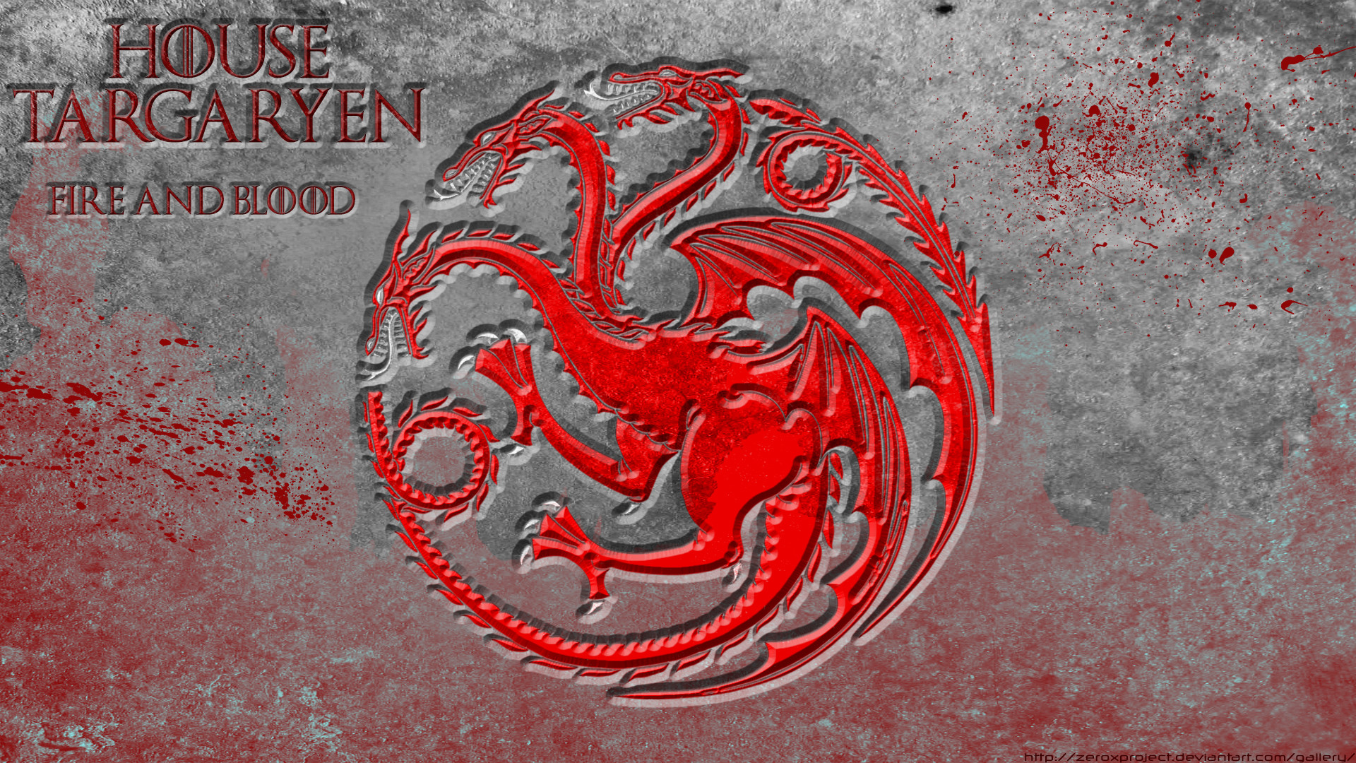 … House Targaryen – Game Of Thrones – HD by ZeroxProject