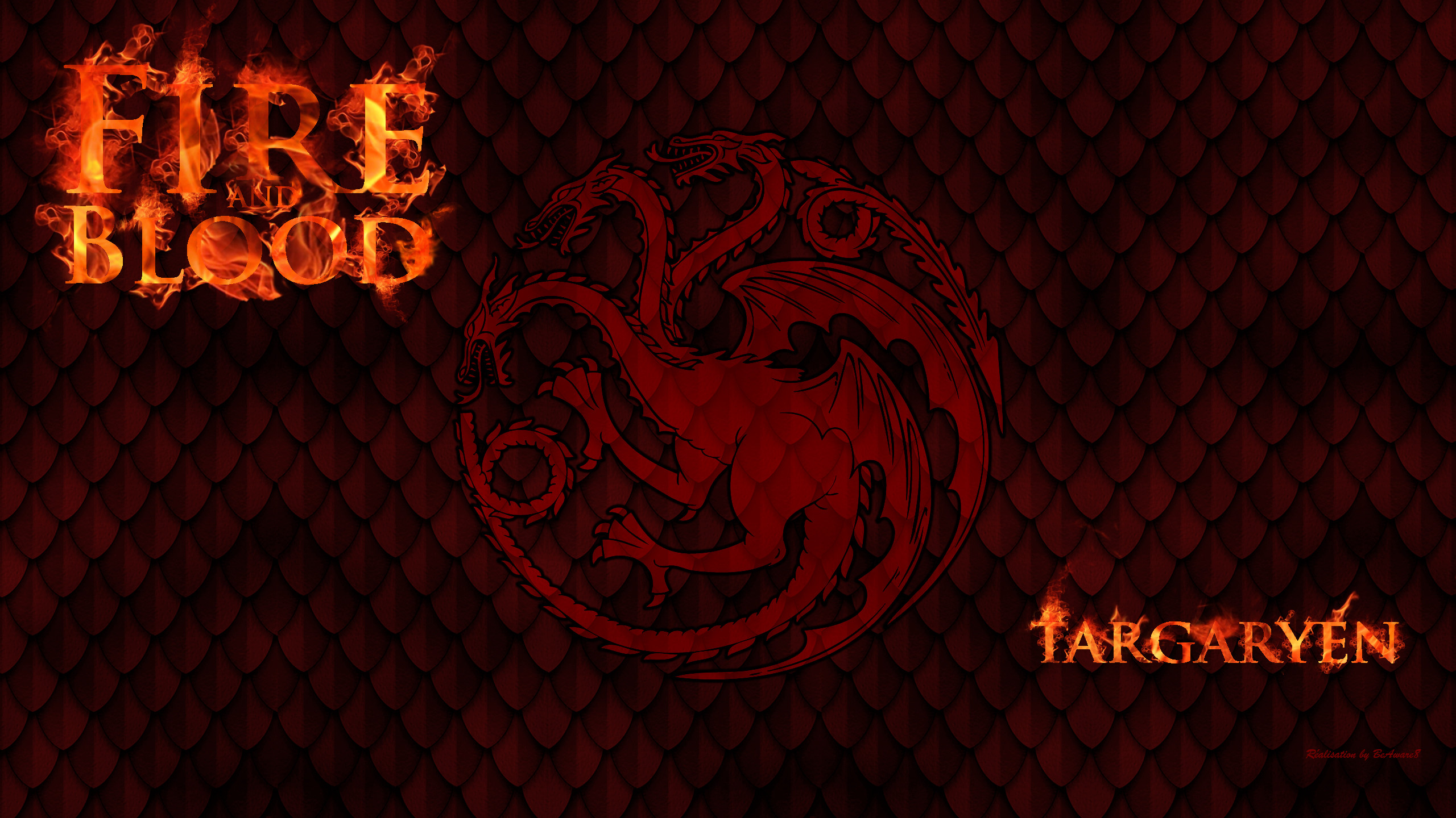 … Game Of Thrones – House Targaryen by BeAware8