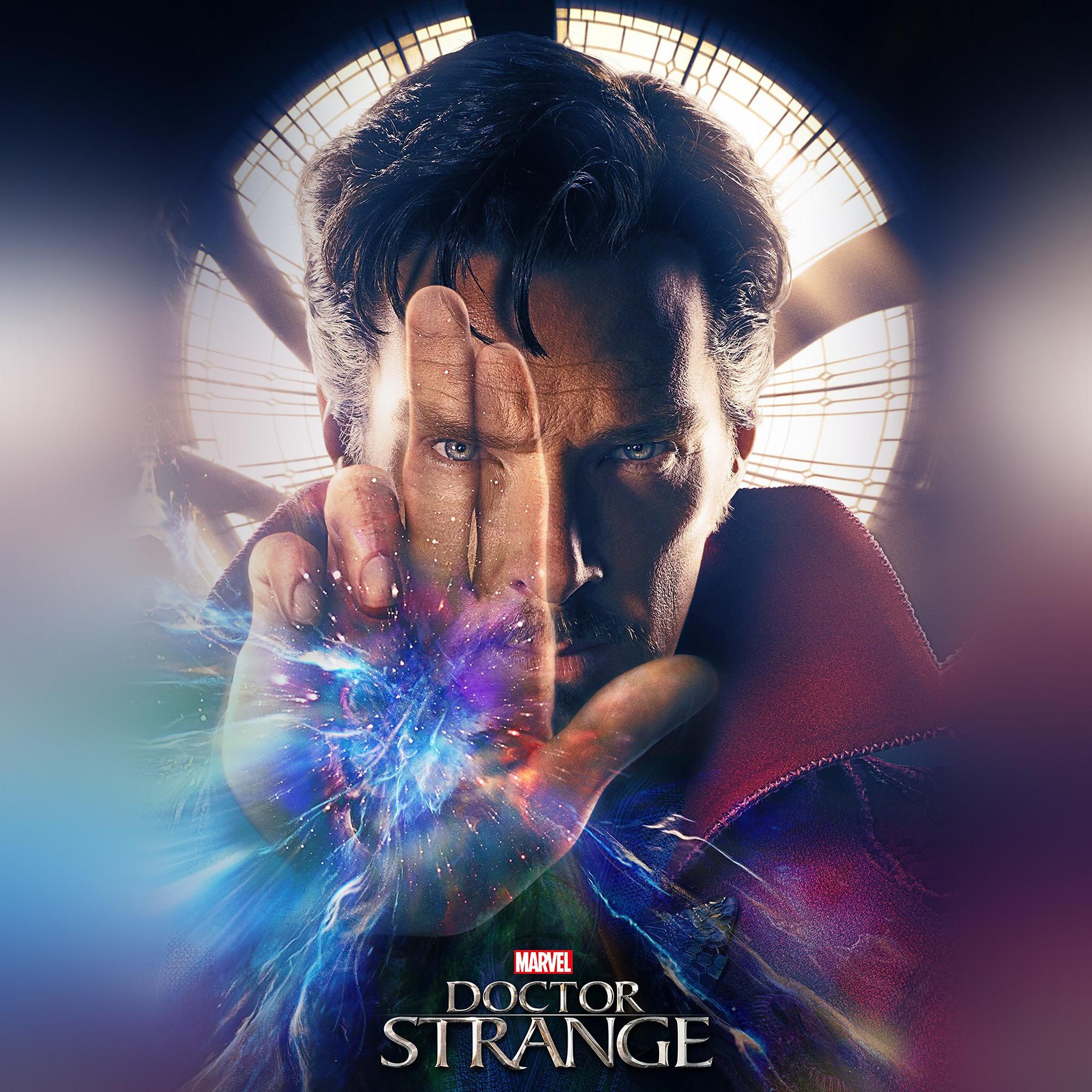 677 0: Marvel Doctor Strange Art Film Poster iPad wallpaper. Â«