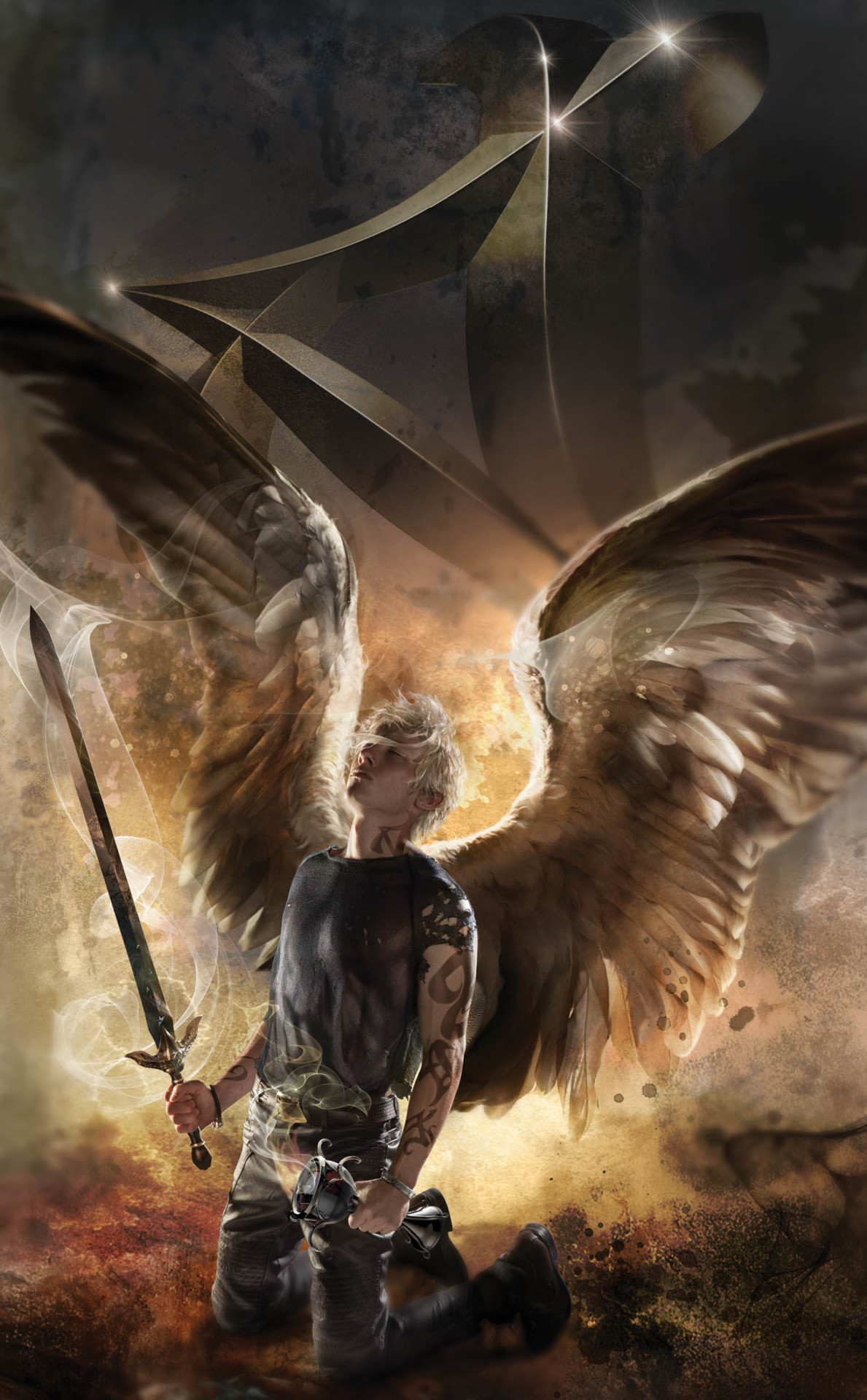 Sebastian – City of Heavenly Fire (Shadowhunters, The Mortal Instruments,  book six) by Cassandra Clare, special edition cover