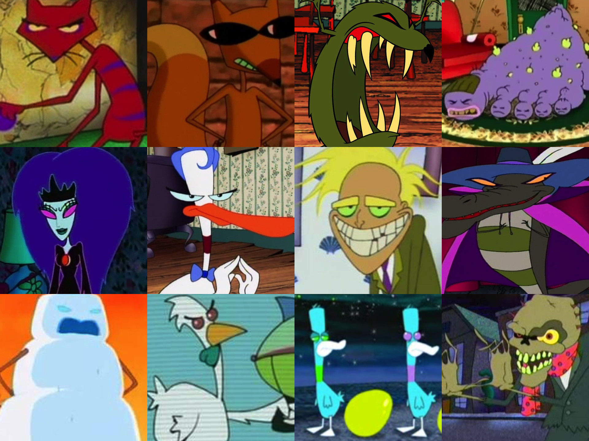 … Courage the Cowardly Dog Villains by Legion472