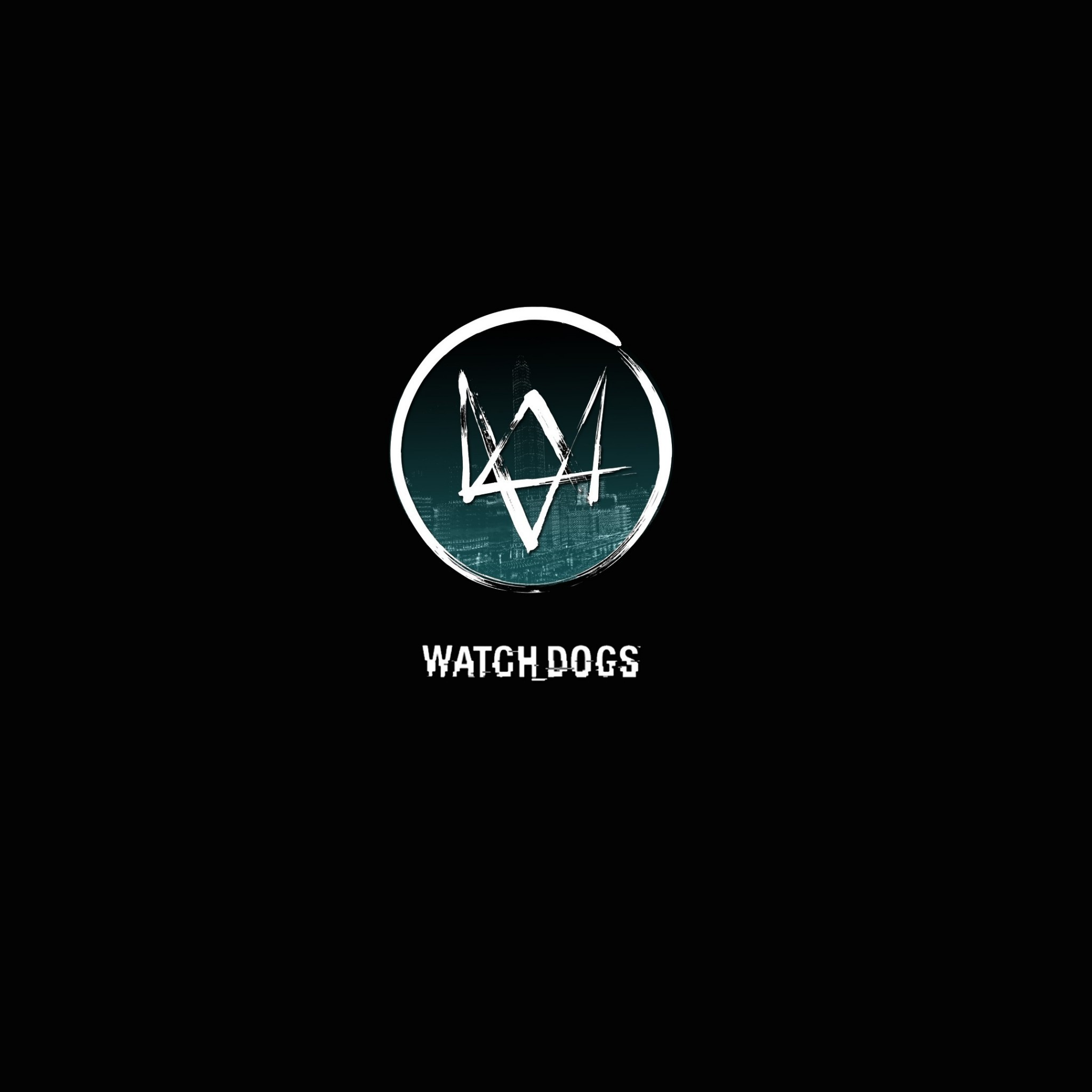 Watch Dogs Logo – Tap to see awesome Watch Dog wallpapers!