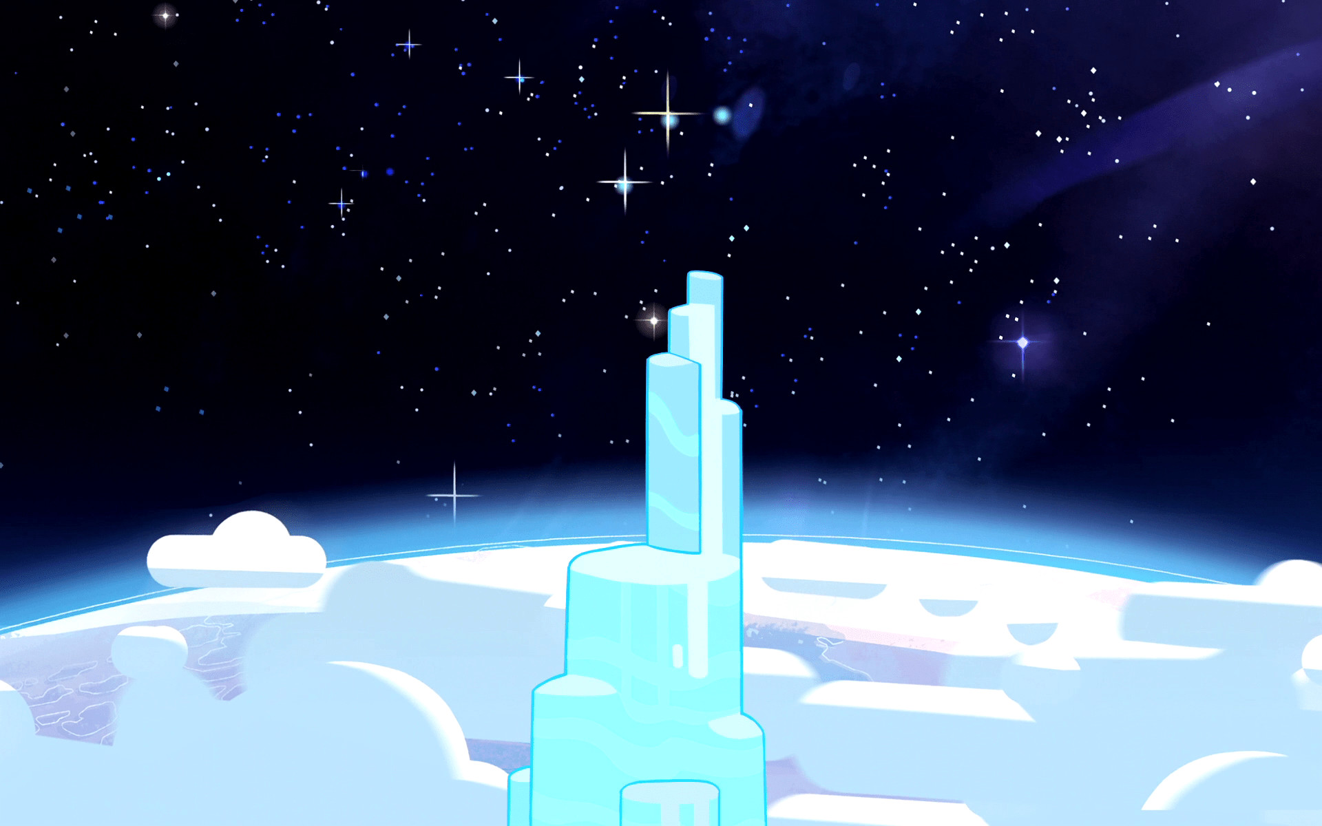 … series Steven Universe. Seriously, this show is just a joy to watch for  the artwork alone – and there's something oddly soothing about the  backgrounds …