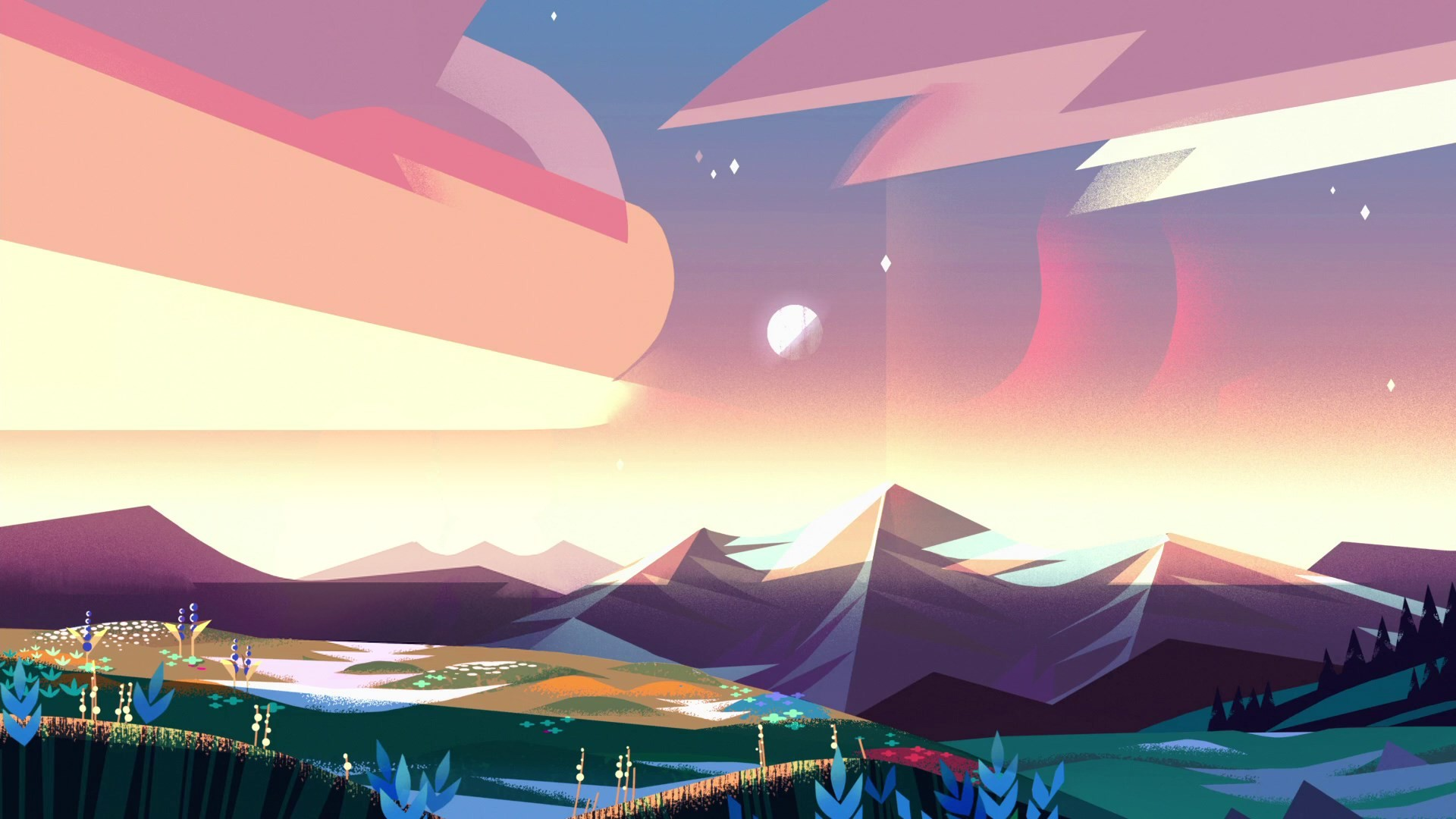 px steven universe picture: High Definition Backgrounds by  Mansfield Peacock