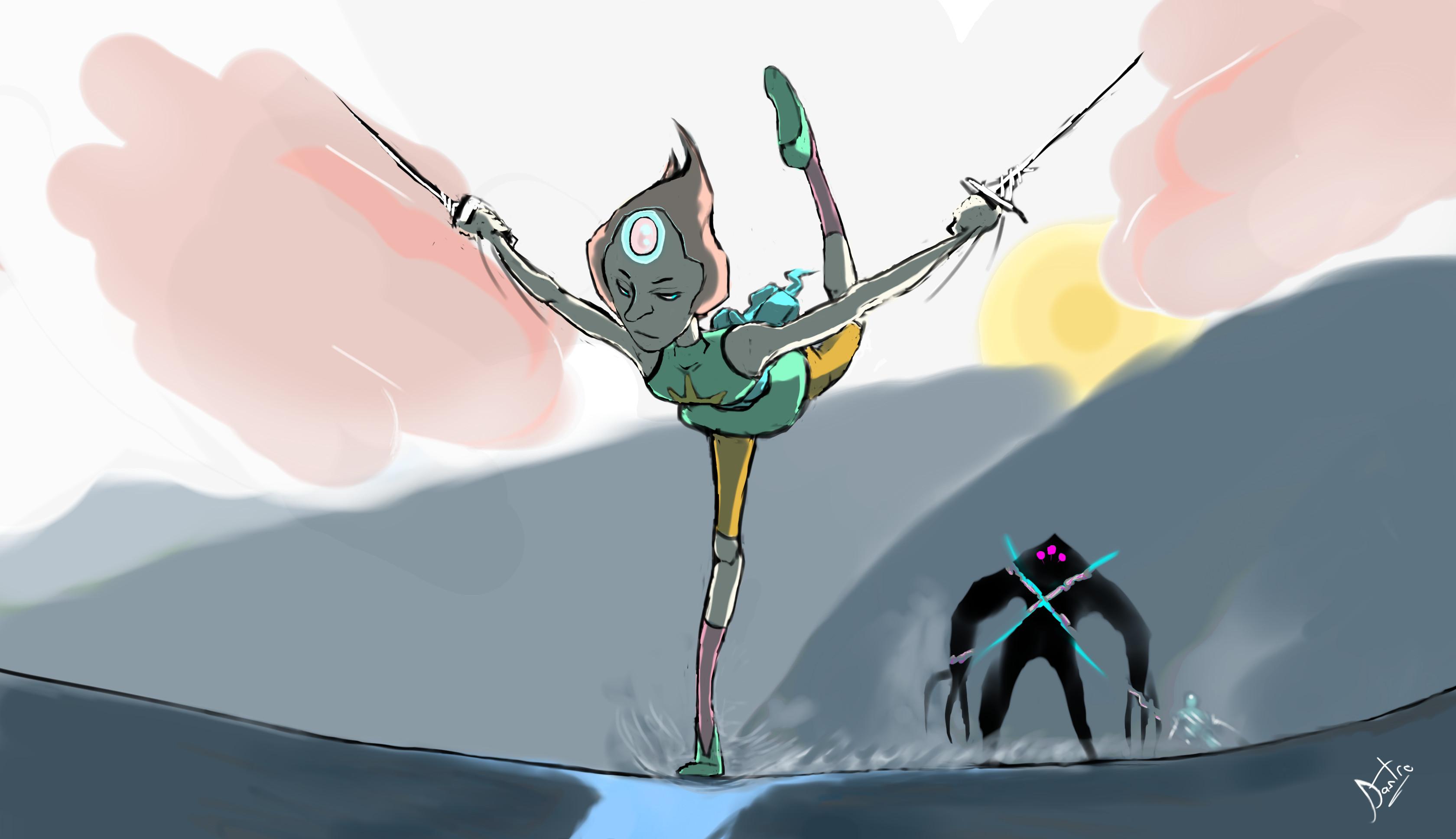 … Pearl Strike (Steven Universe) by Dastro