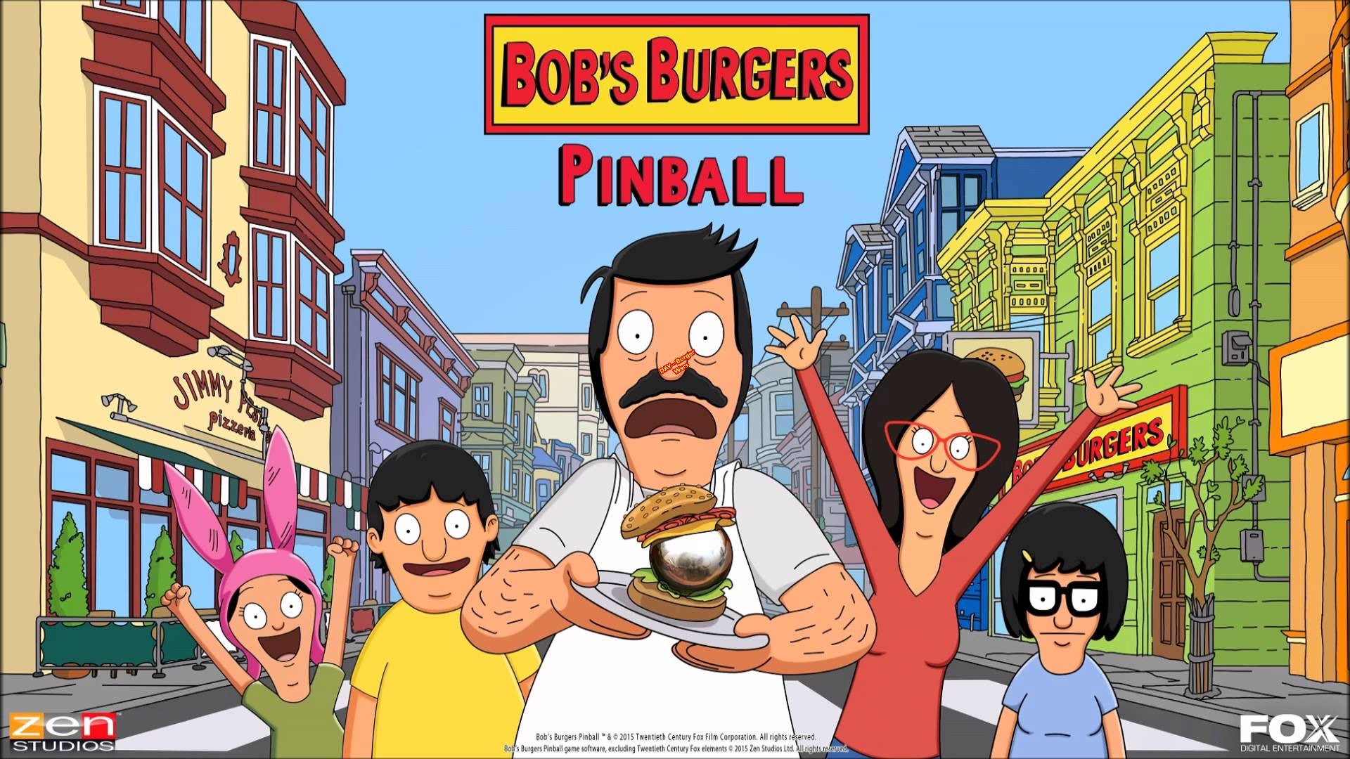 Zen Pinball 2 (PS4): Bob's Burgers – DAY – Burger Wars *1080p HD*