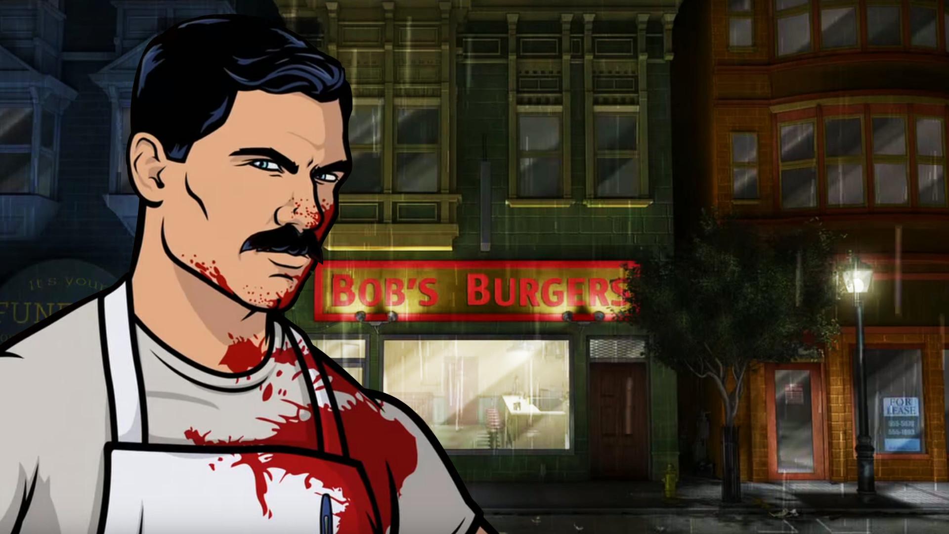 I made a wallpaper using the Archer/Bob's Burgers Episode!