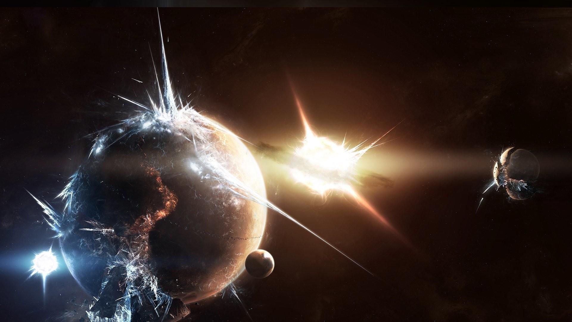 HD Wallpaper | Background ID:69906. Sci Fi Explosion