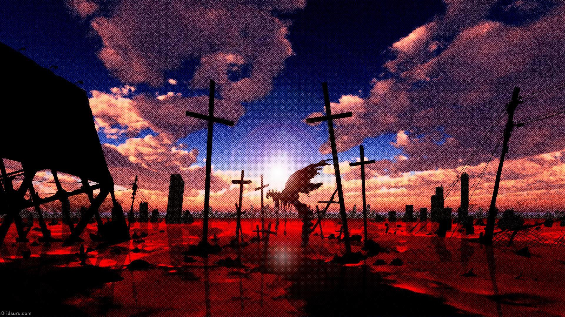 Download Neon Genesis Evangelion Up Wallpaper   Full HD .
