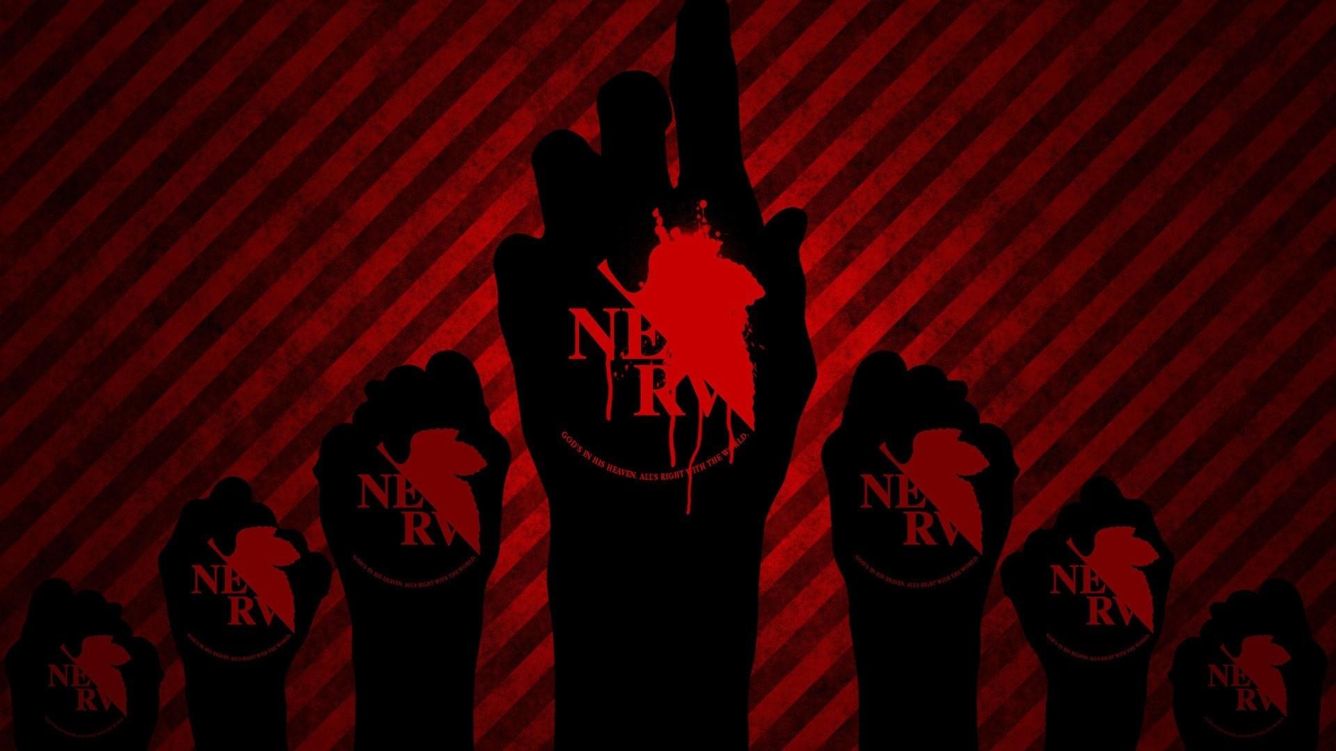 Neon Genesis Evangelion Blood Red Anime …