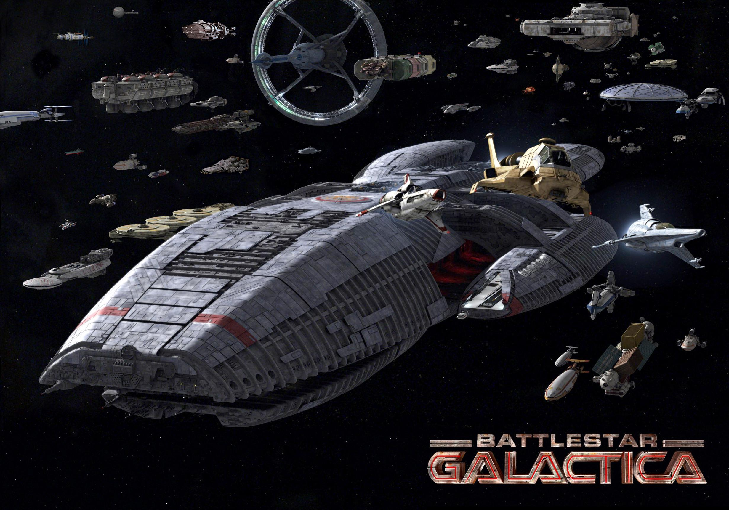 Battlestar Galactica- Season 1 & 2- Series | Starstone
