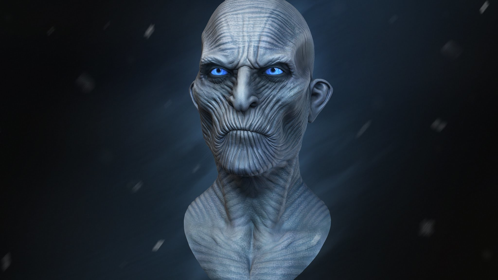 White Walker Sculpt Timelapse