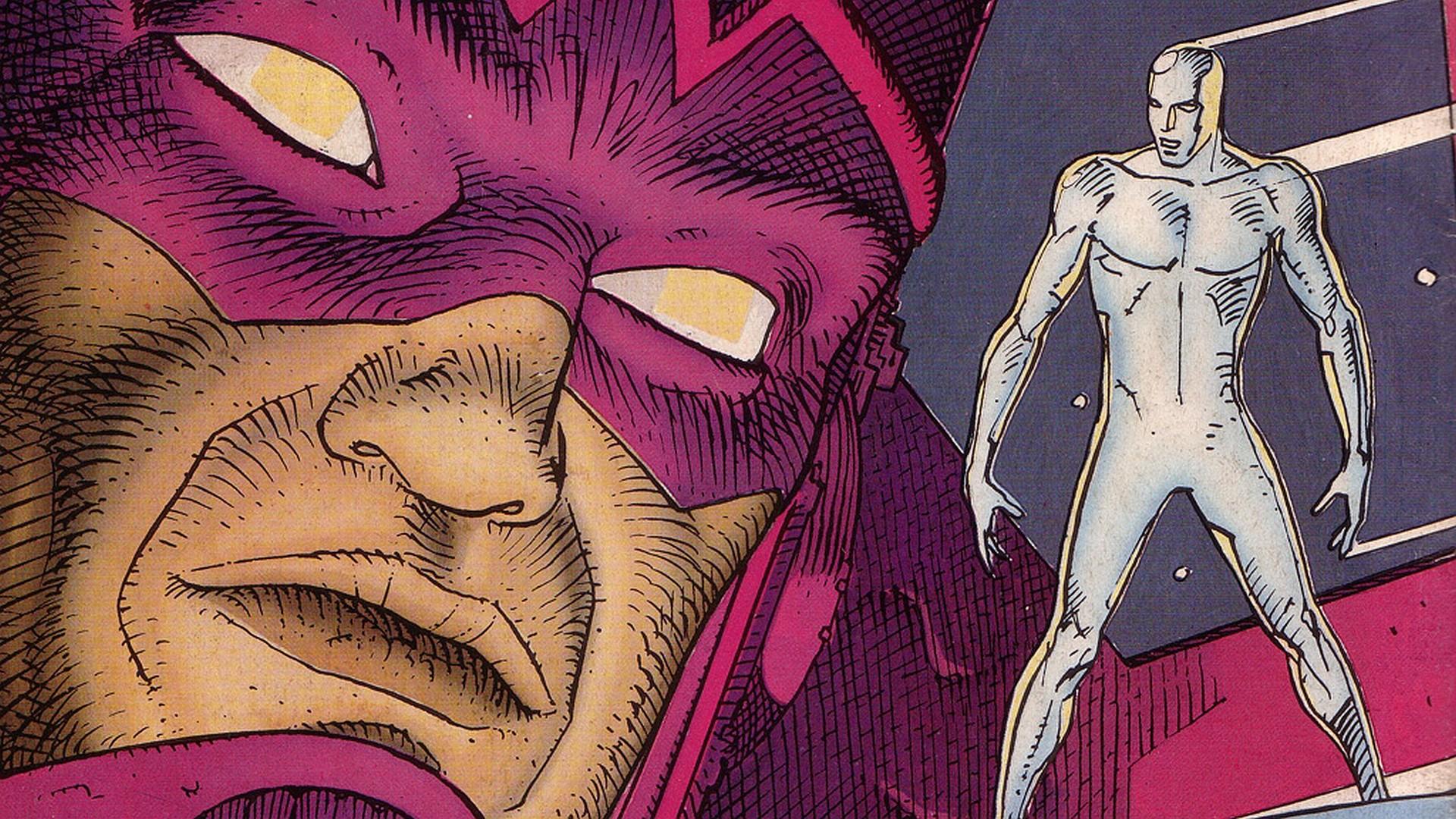 Comics – Silver Surfer Galactus Wallpaper