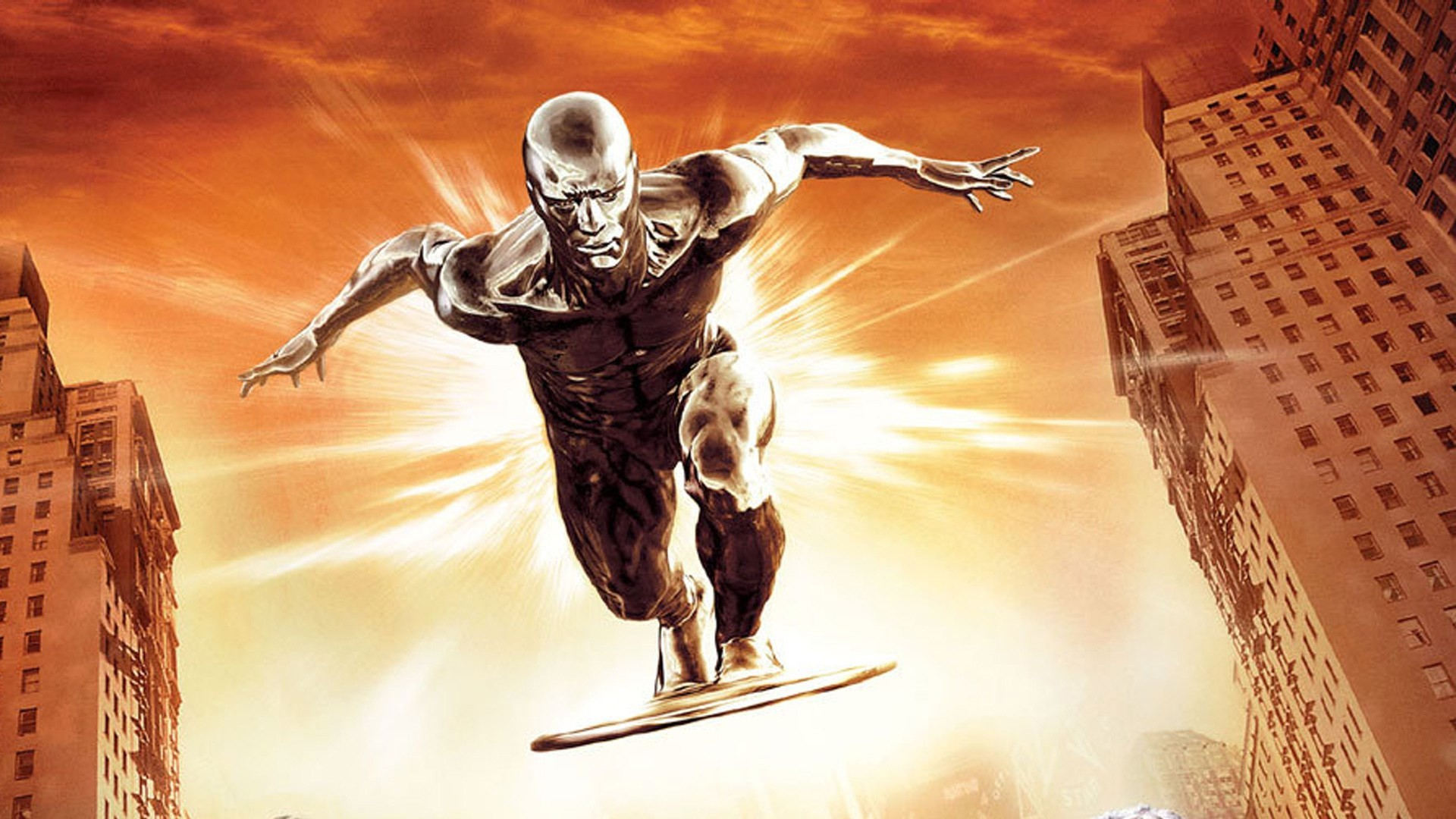 free screensaver wallpapers for fantastic 4 rise of the silver  surfer