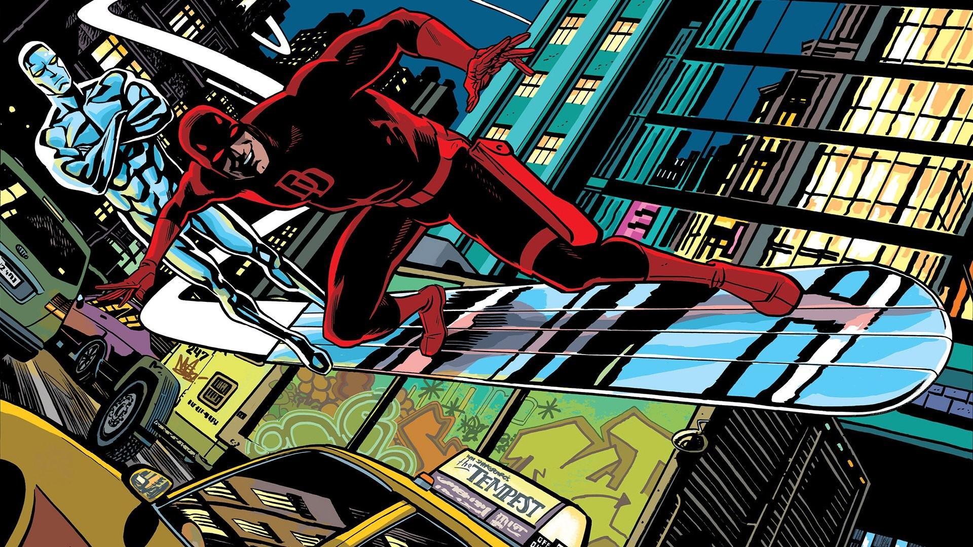 Comics – Daredevil Matt Murdock Silver Surfer Wallpaper