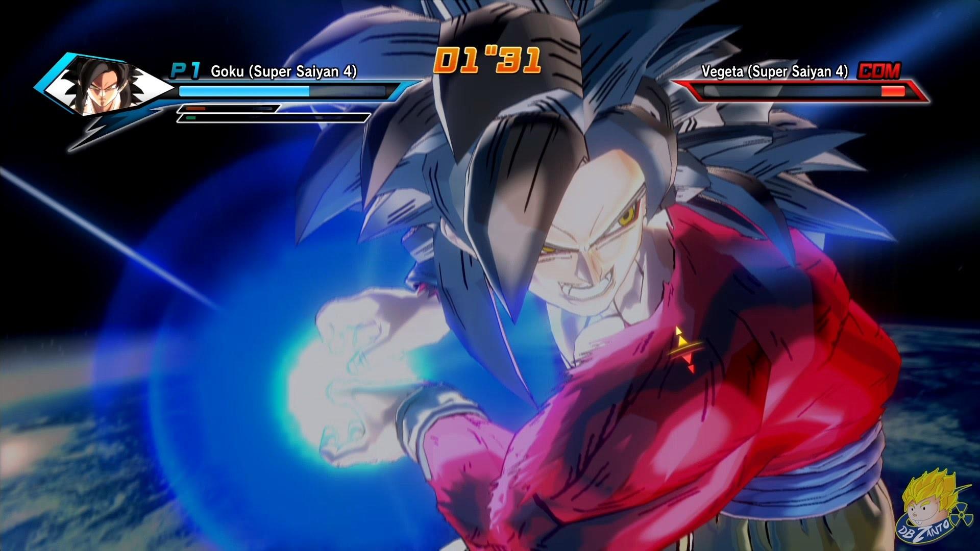 Dragon Ball Xenoverse (PS4) : SSJ4 Goku Vs SSJ4 Vegeta【60FPS 1080P】 –  YouTube
