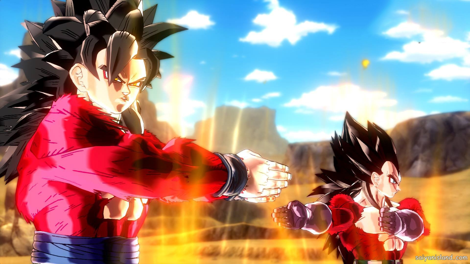 DBXV SSJ4 Goku & SSJ4 Vegeta Fusion Dance GT Pack 2 DLC 31.jpg