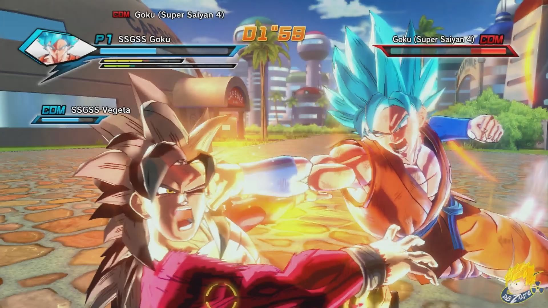 Dragon Ball Xenoverse (PC) : SSGSS Goku & SSSG Vegeta Vs SSJ4 Goku & SSJ4  Vegeta【60FPS 1080P】 – YouTube