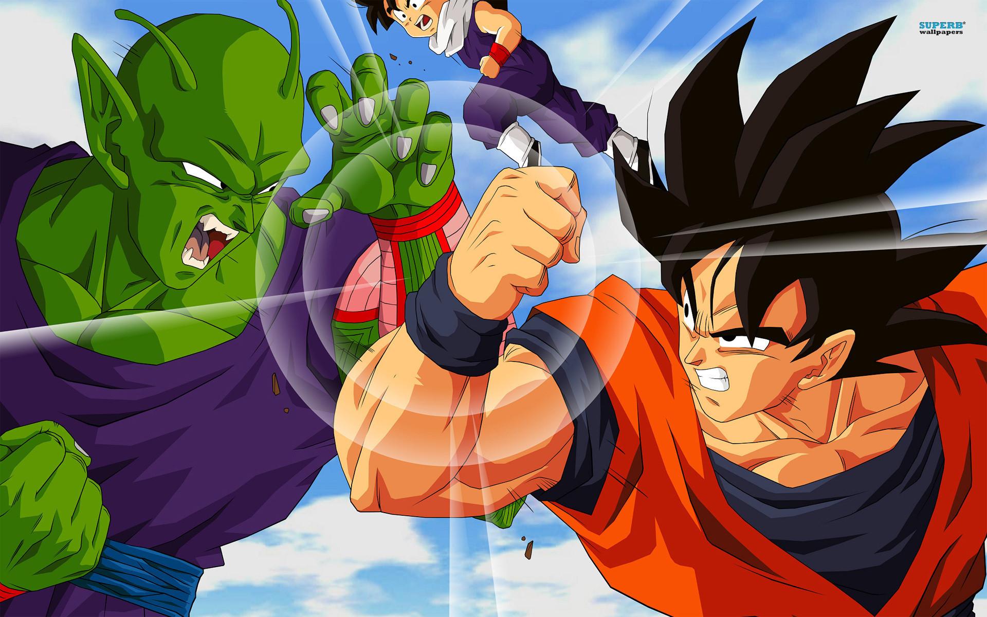 Tags: Anime, Toei Animation, DRAGON BALL, Son Gohan, Piccolo, Son