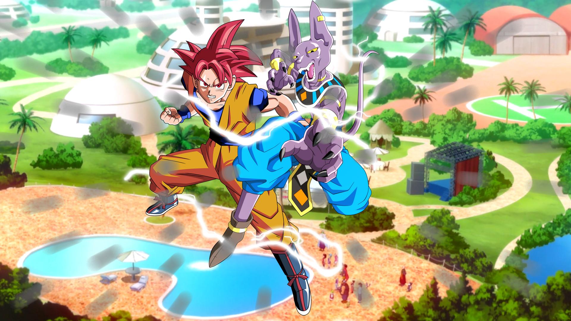 … Dragon Ball Z Battle of the Gods 1080p by Boeingfreak