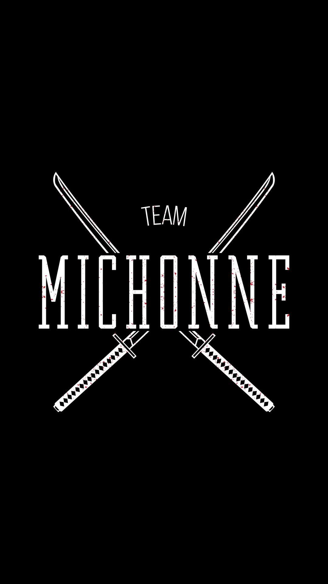 Team Michonne The Walking Dead iPhone 6+ HD Wallpaper …